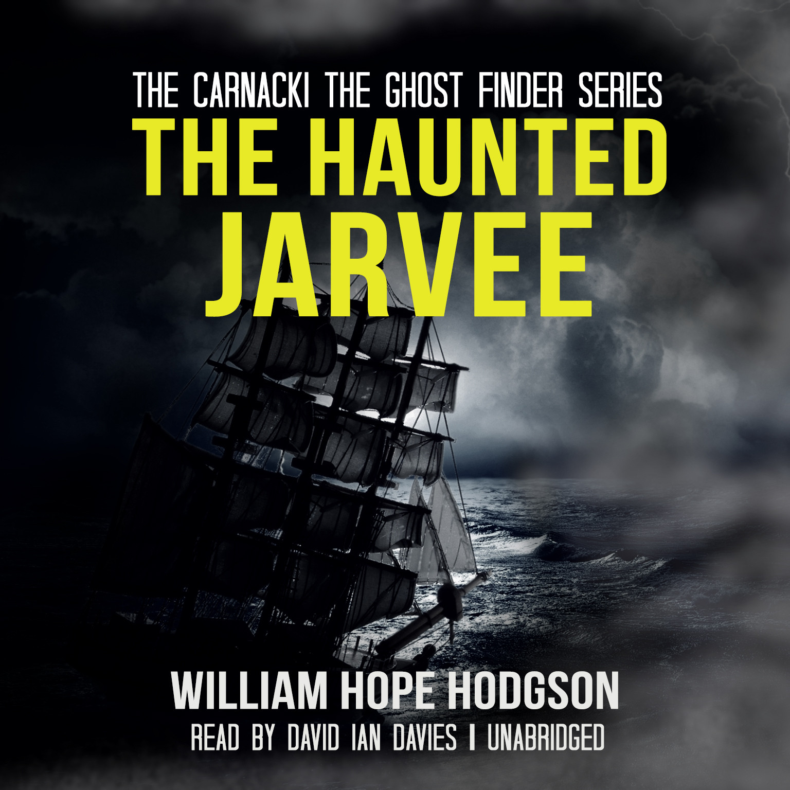 Printable The Haunted Jarvee Audiobook Cover Art