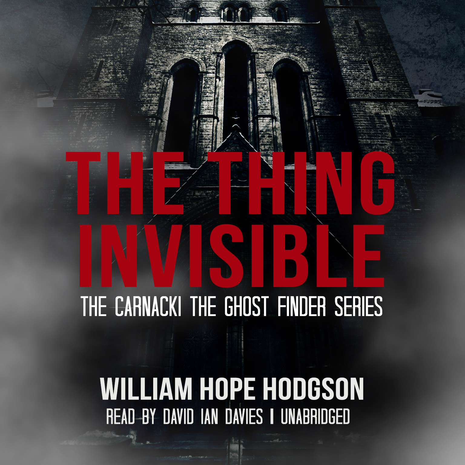 Printable The Thing Invisible Audiobook Cover Art