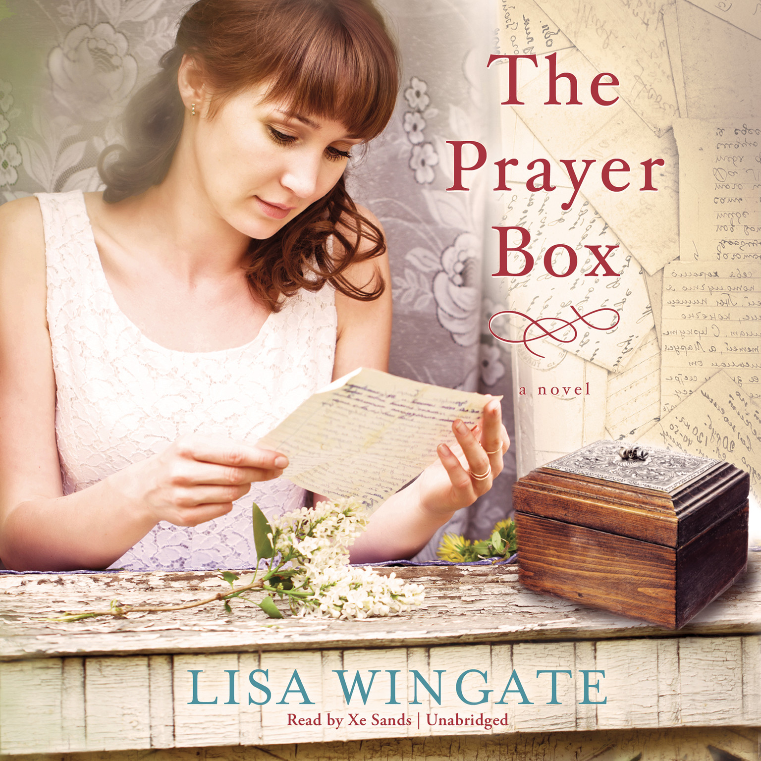 Printable The Prayer Box: A Novel Audiobook Cover Art