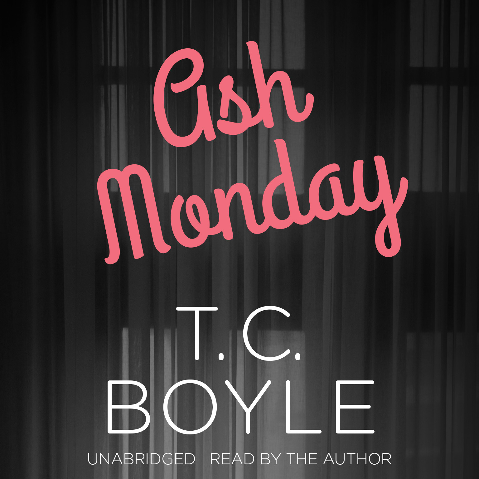 Printable Ash Monday Audiobook Cover Art