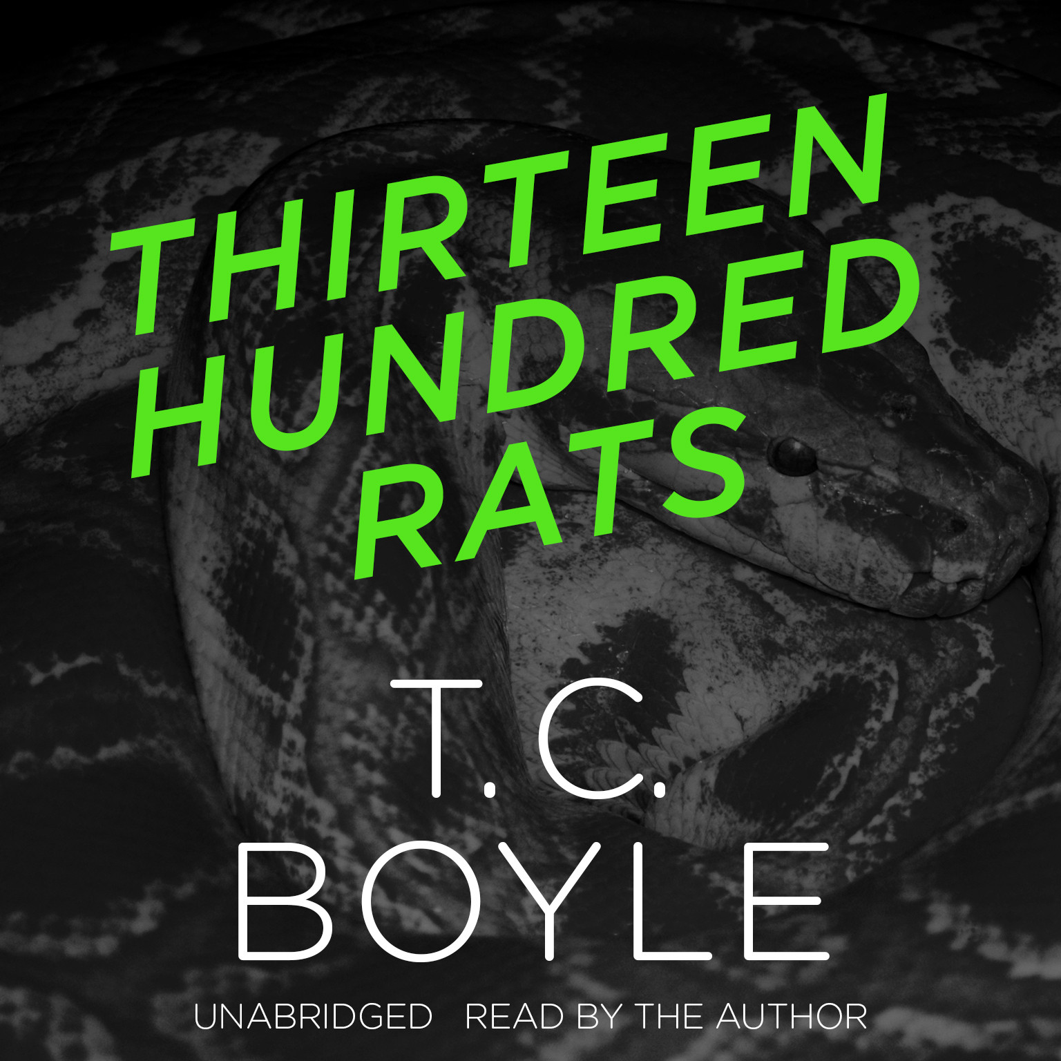 Printable Thirteen Hundred Rats Audiobook Cover Art