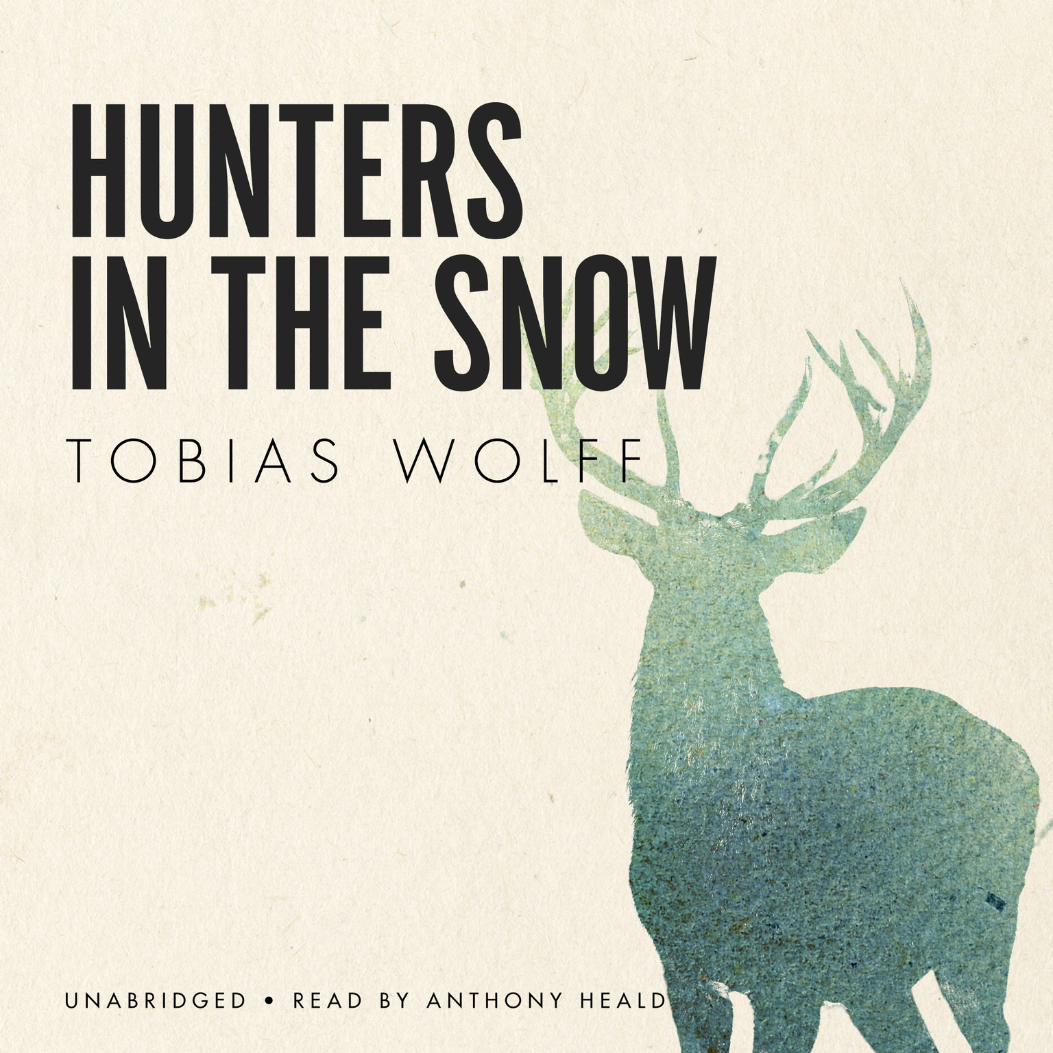 Printable Hunters in the Snow Audiobook Cover Art