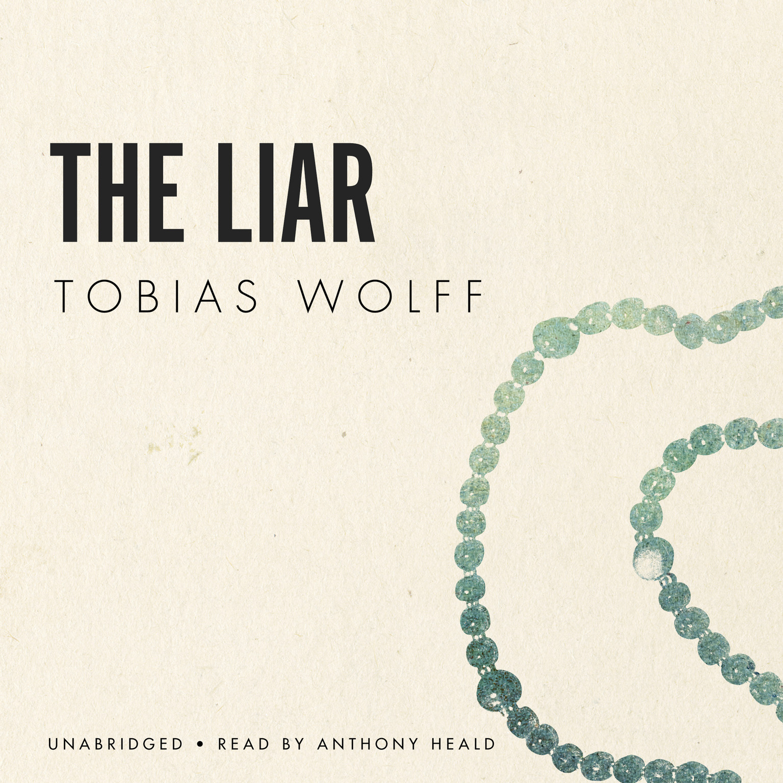 Printable The Liar Audiobook Cover Art