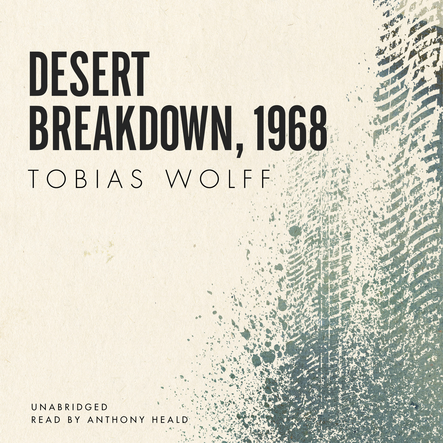 Printable Desert Breakdown, 1968 Audiobook Cover Art