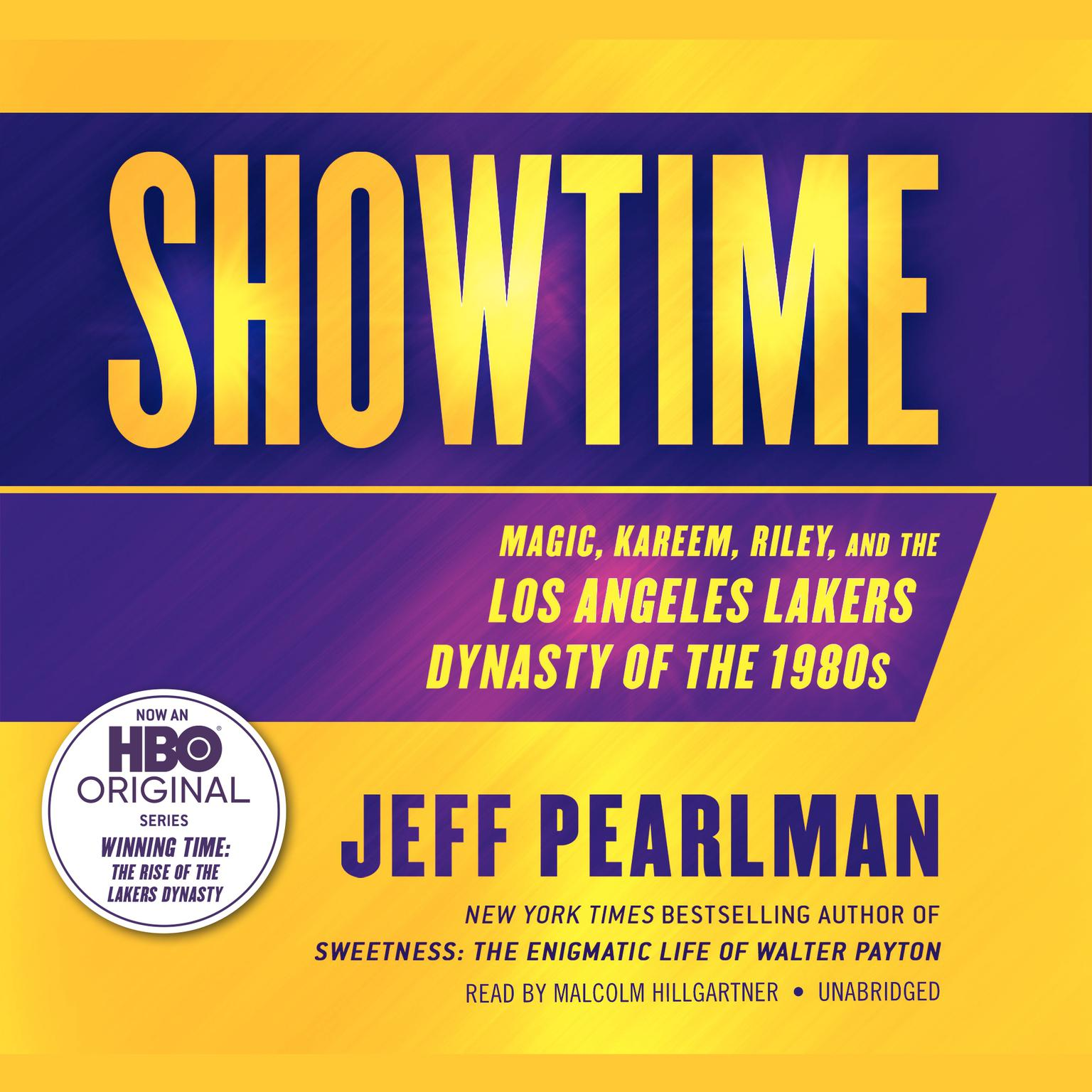 Printable Showtime: Magic, Kareem, Riley, and the Los Angeles Lakers Dynasty of the 1980s Audiobook Cover Art