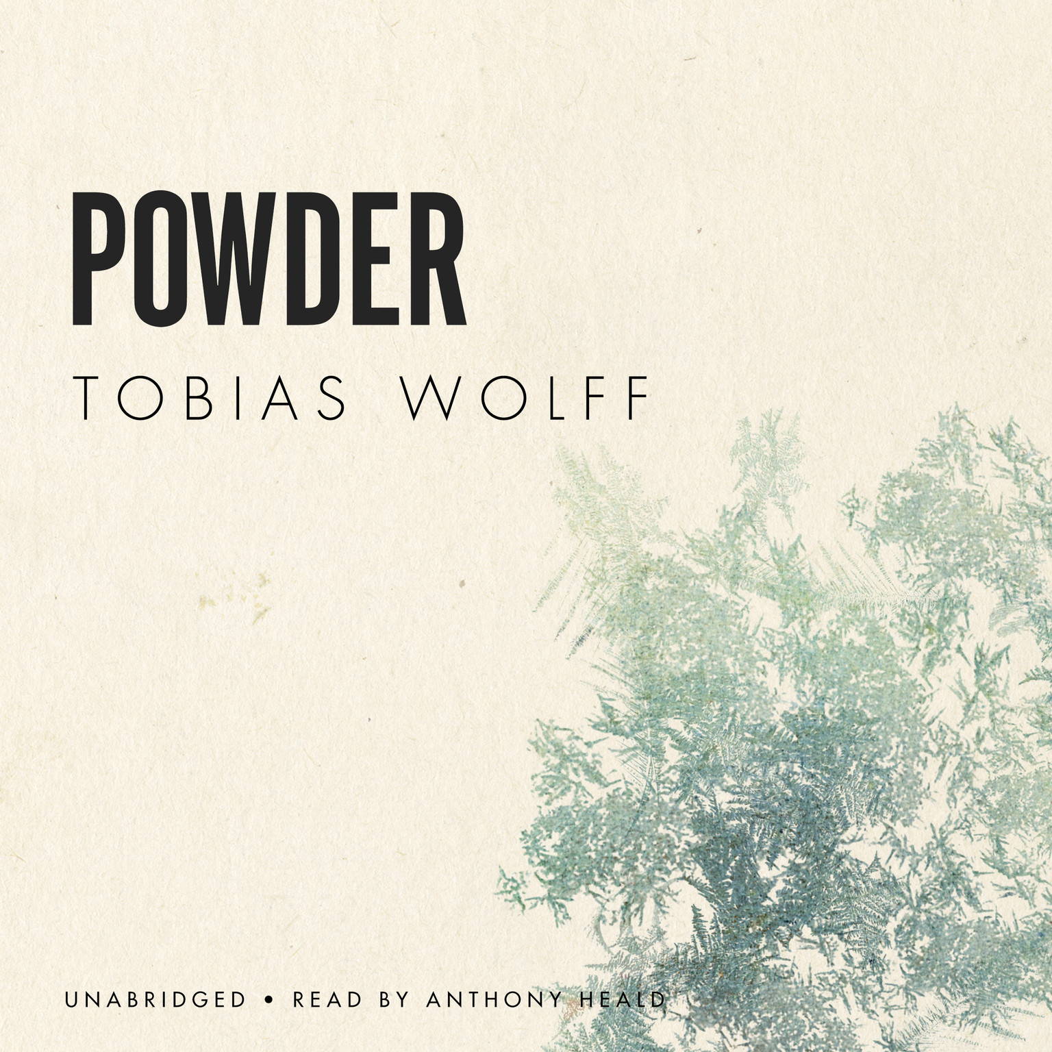 Printable Powder Audiobook Cover Art