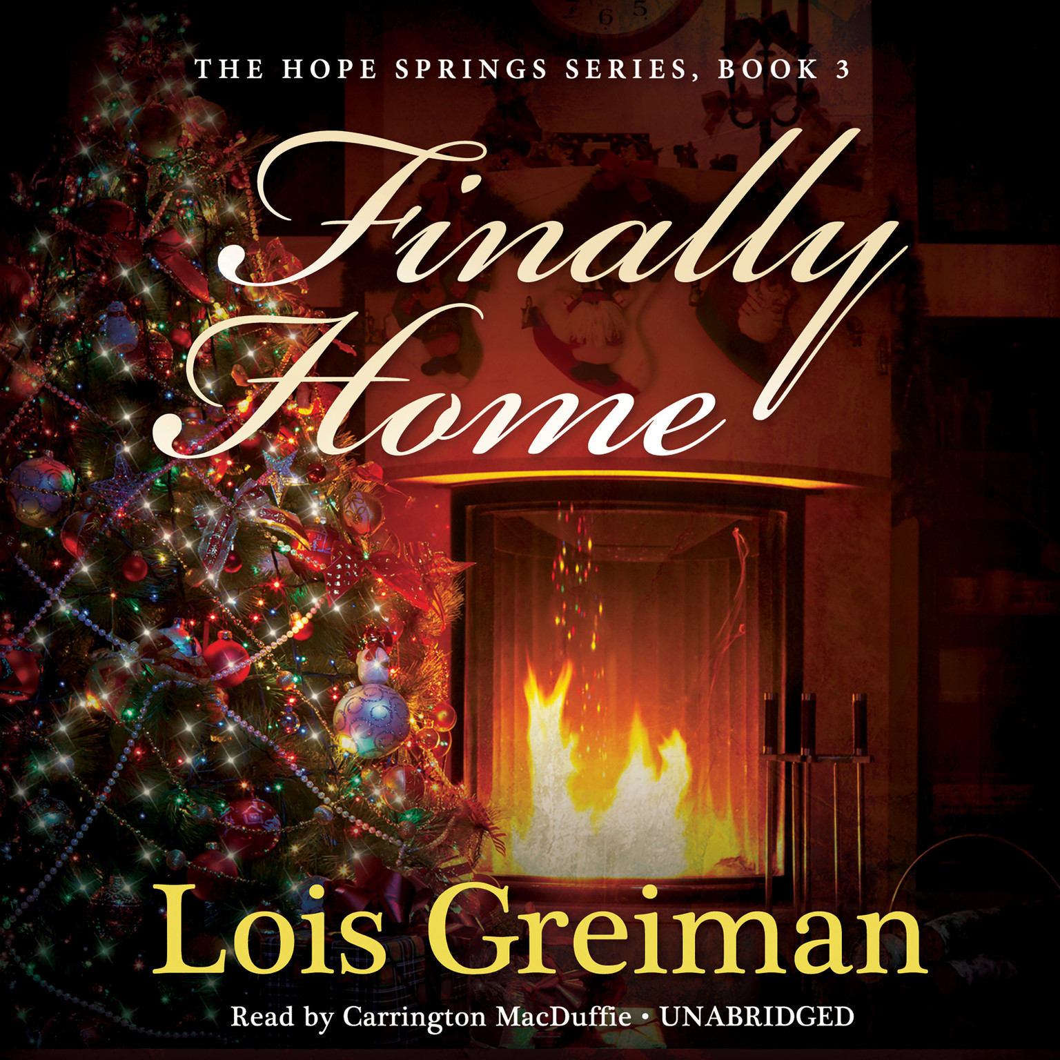 Printable Finally Home Audiobook Cover Art