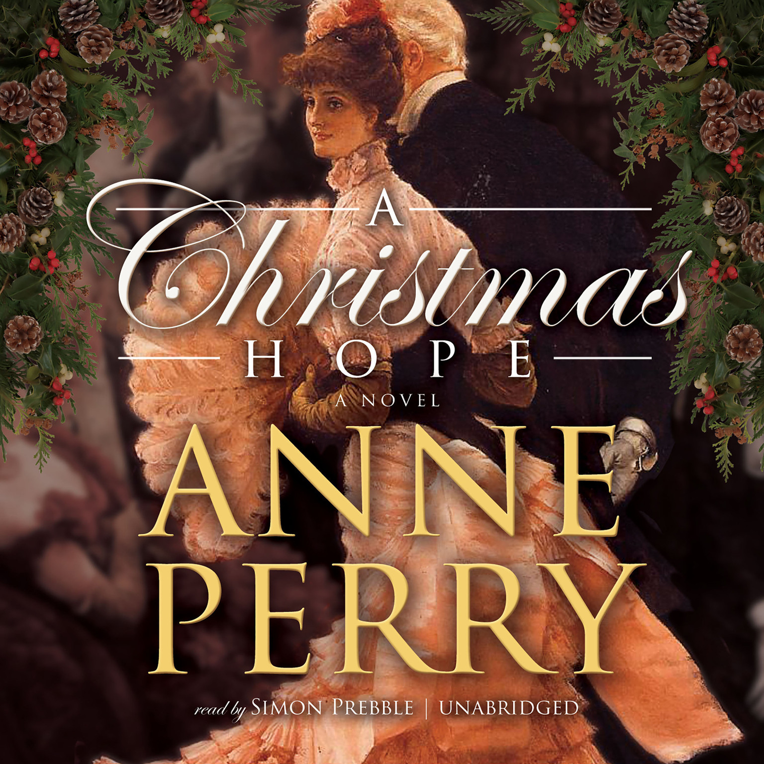 Printable A Christmas Hope Audiobook Cover Art