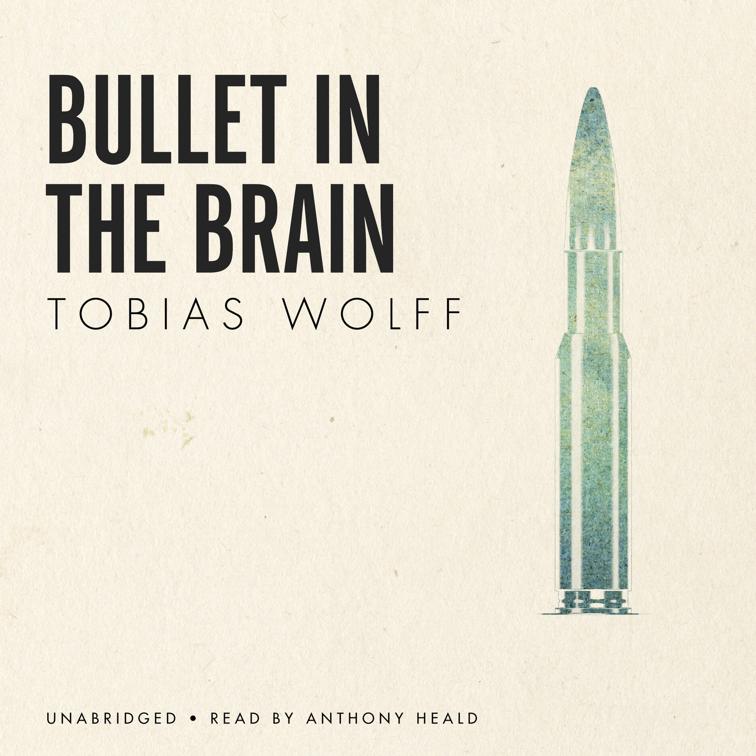 Printable Bullet in the Brain Audiobook Cover Art