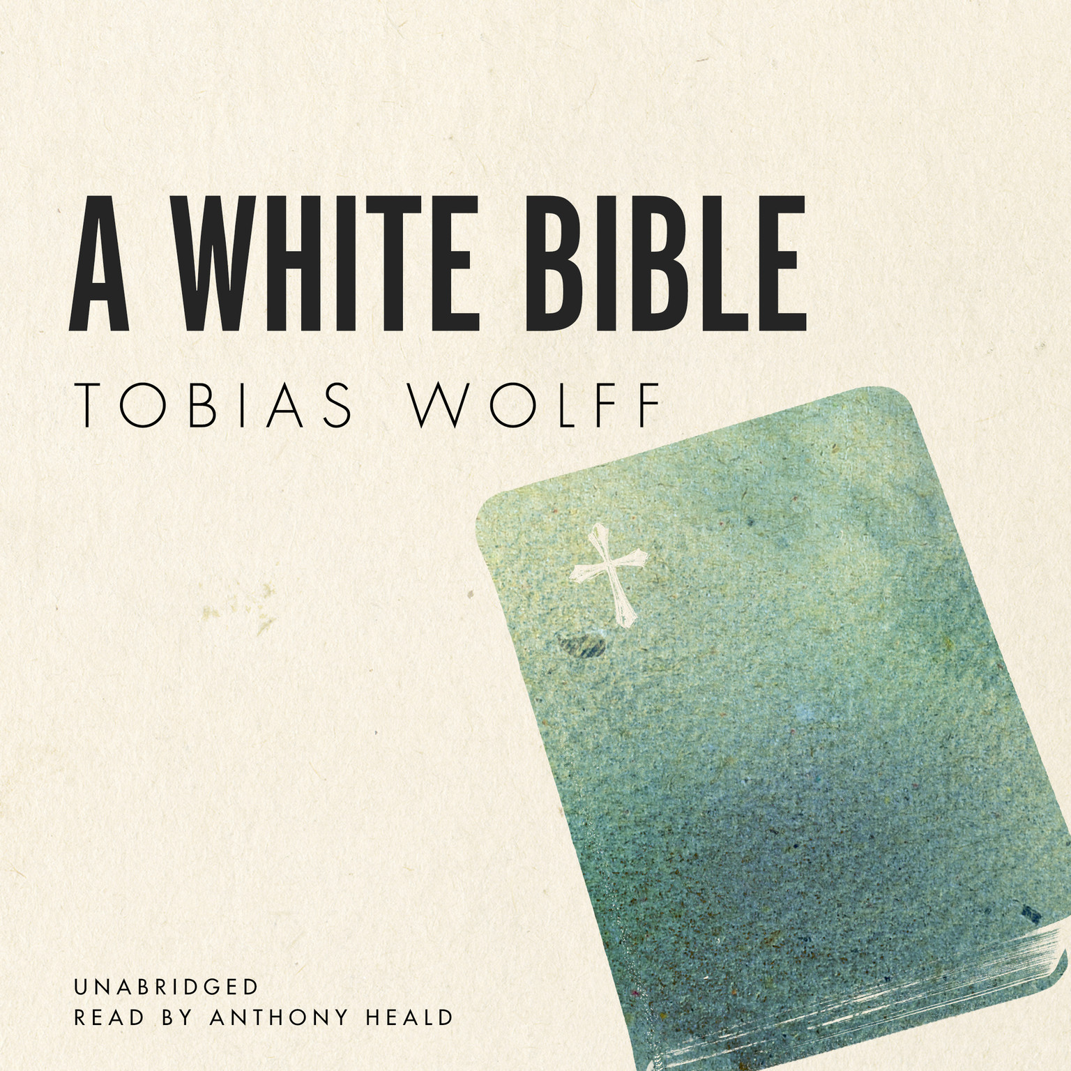 Printable A White Bible Audiobook Cover Art