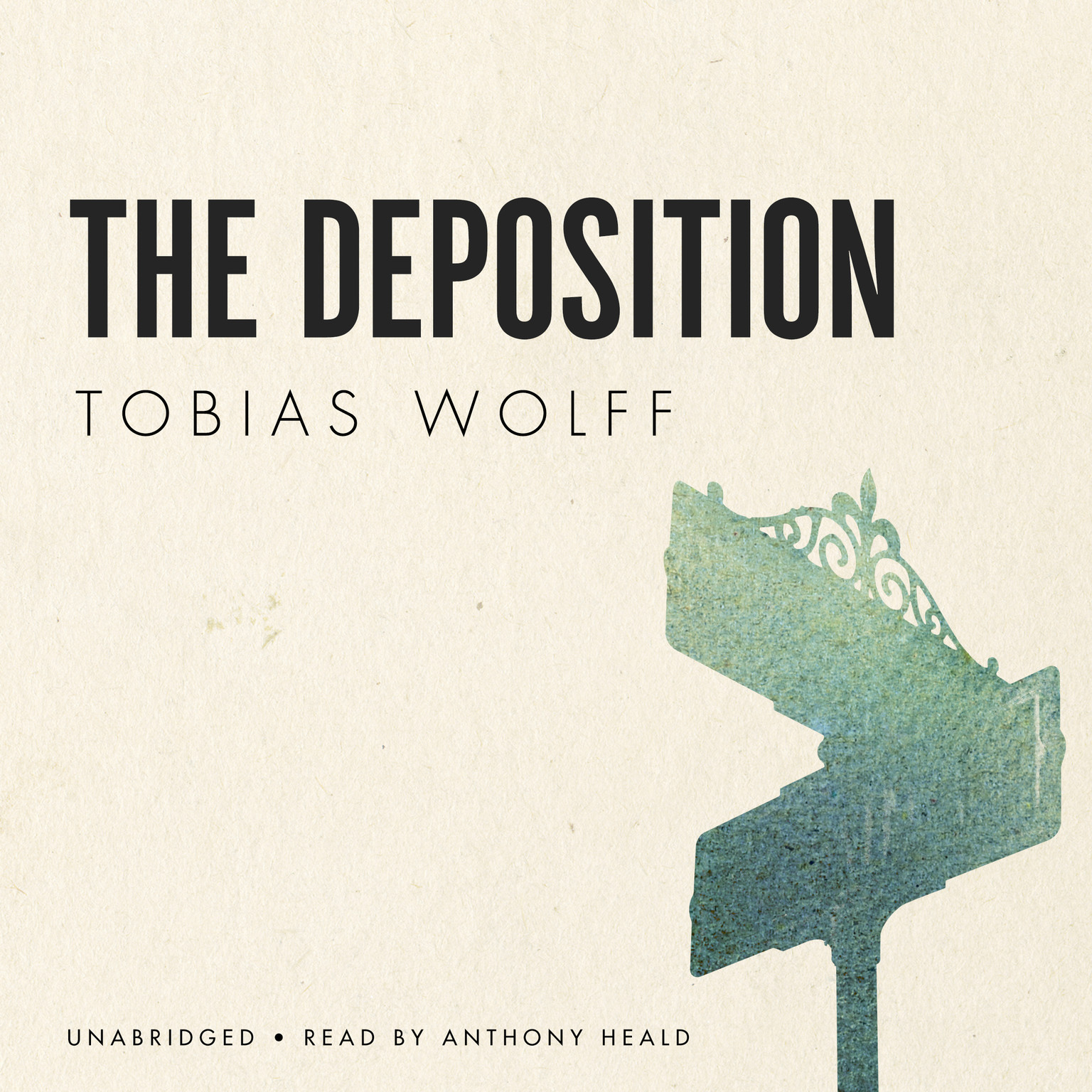 Printable The Deposition Audiobook Cover Art