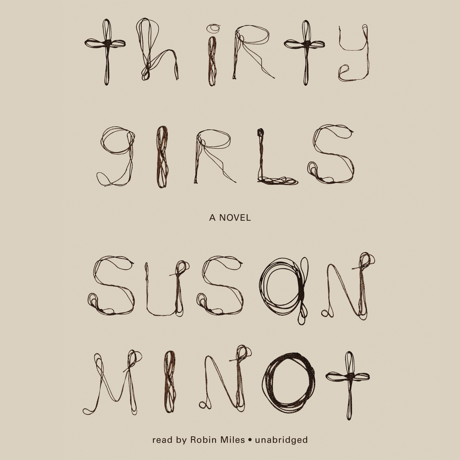 Printable Thirty Girls Audiobook Cover Art