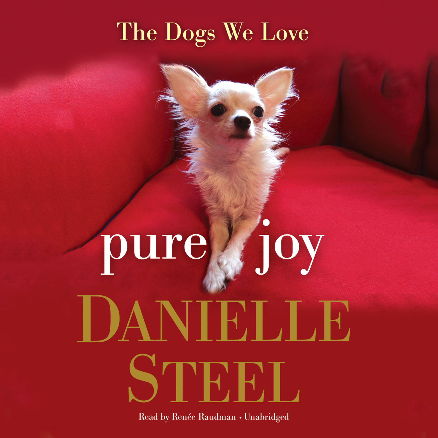 Printable Pure Joy: The Dogs We Love Audiobook Cover Art