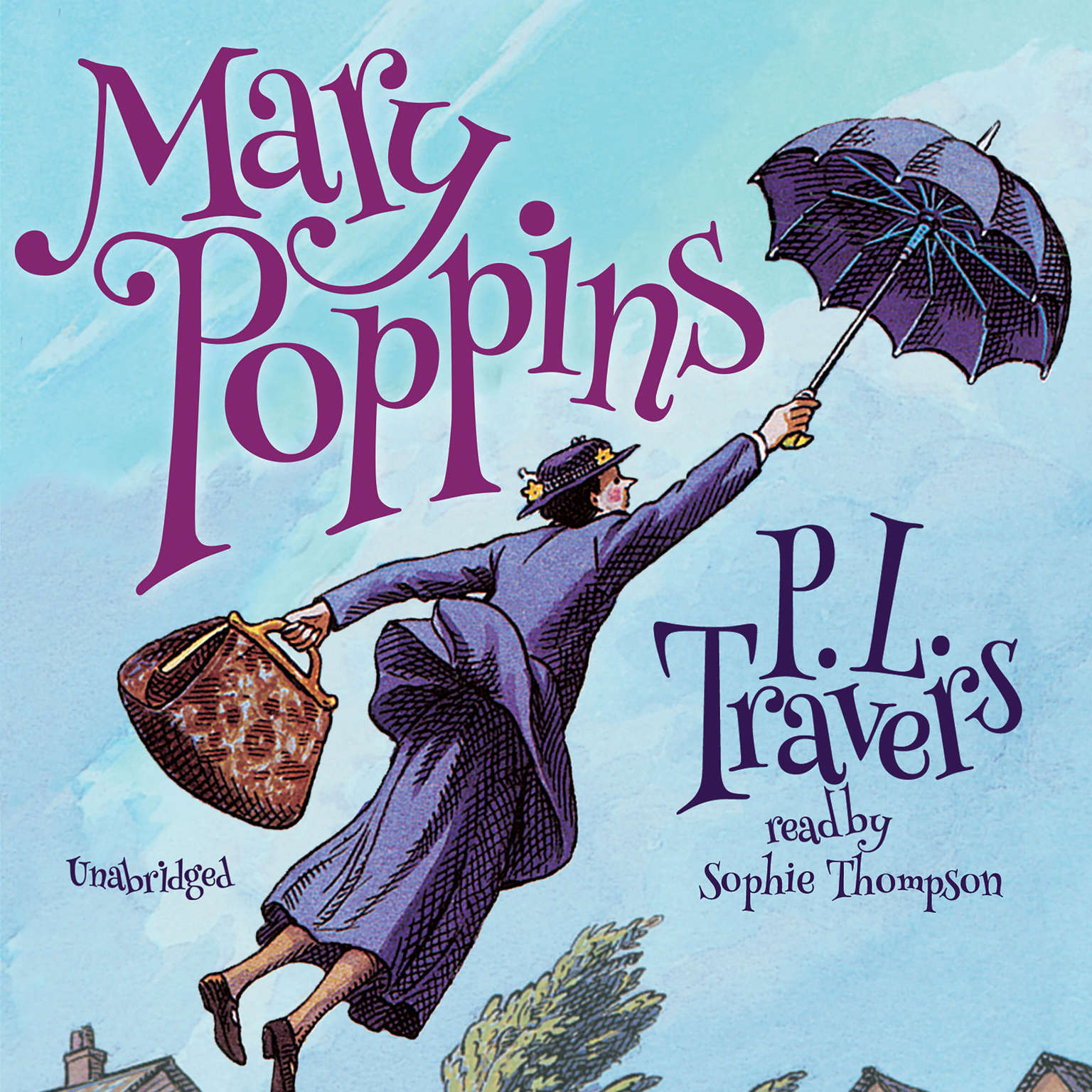 Printable Mary Poppins Audiobook Cover Art