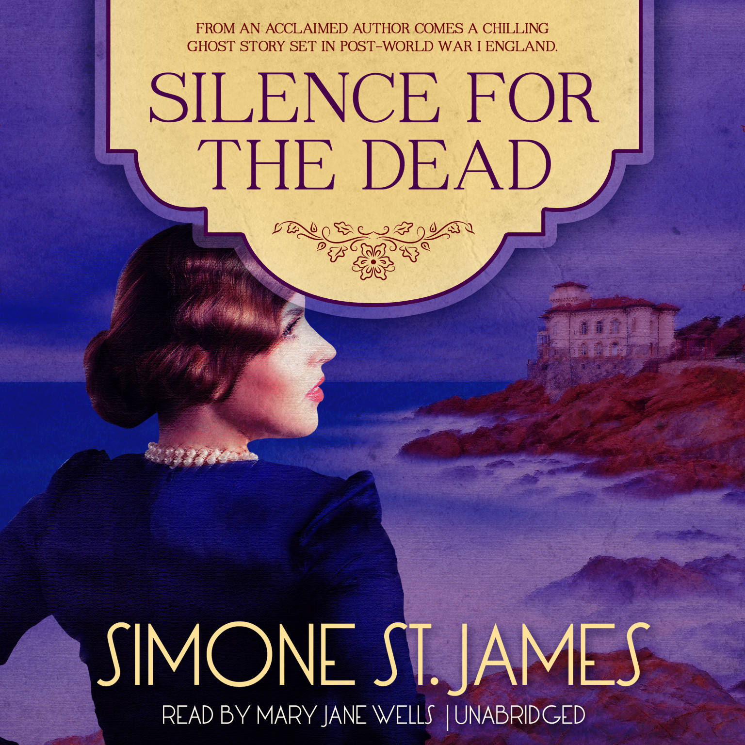 Printable Silence for the Dead Audiobook Cover Art