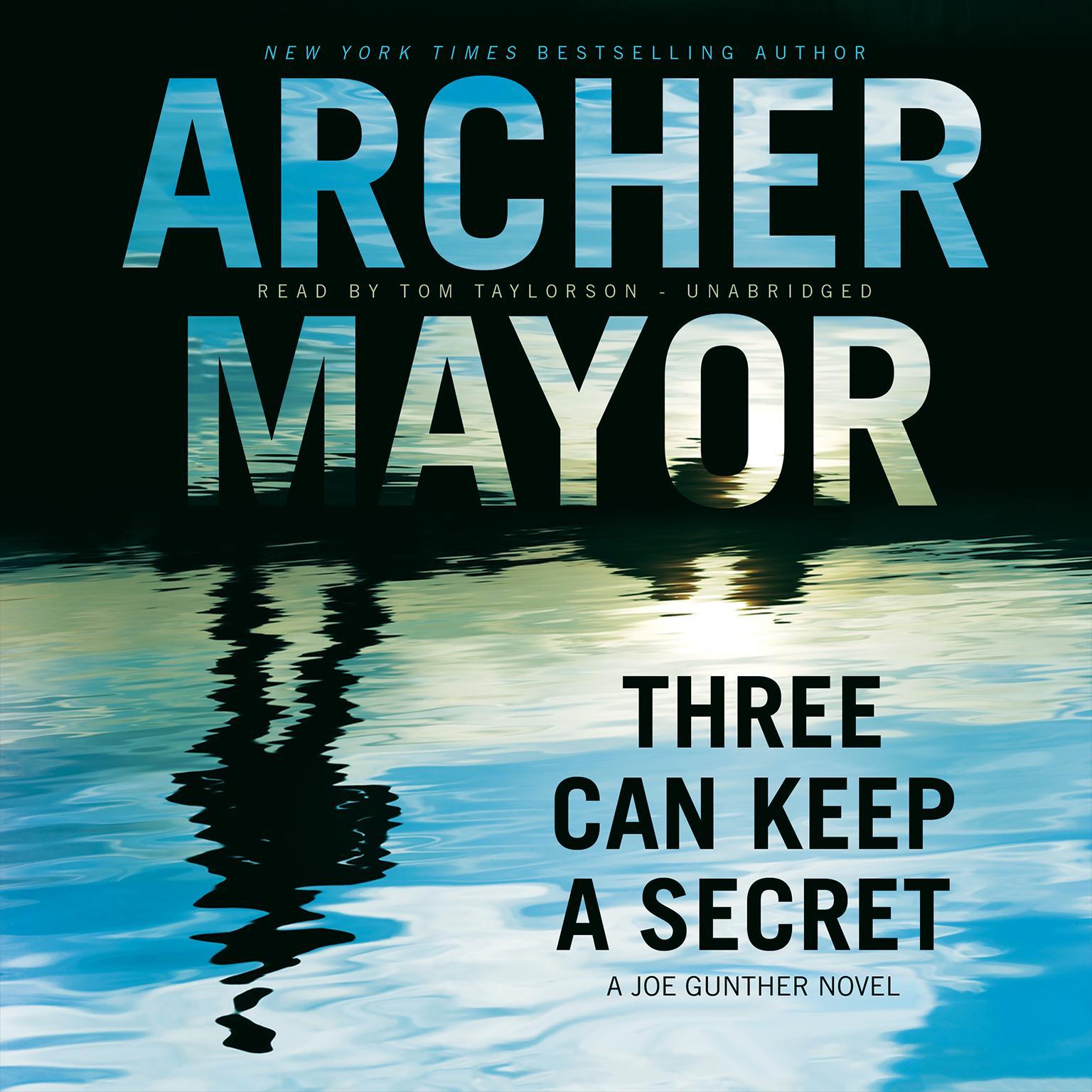Printable Three Can Keep a Secret: A Joe Gunther Novel Audiobook Cover Art