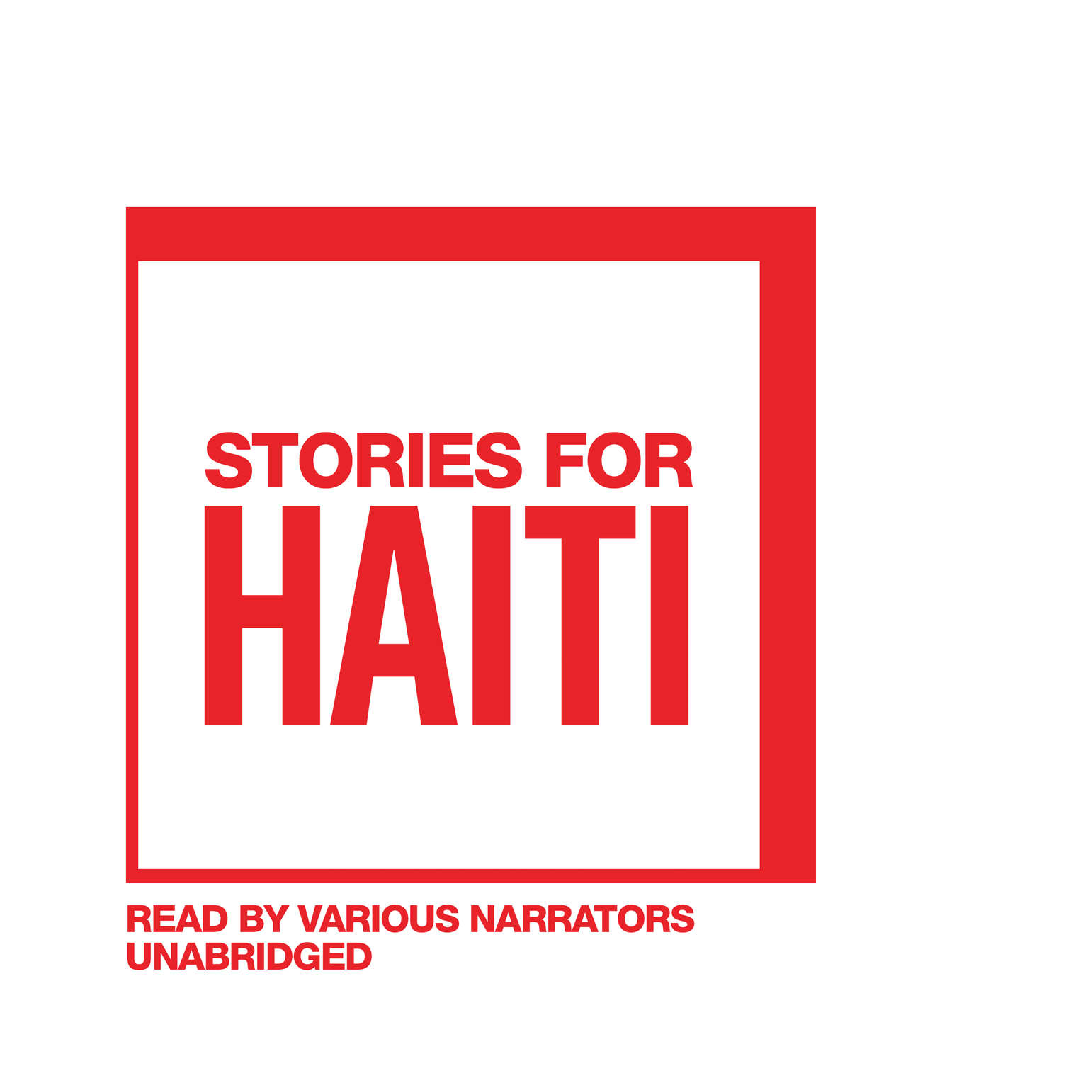 Printable Stories for Haiti Audiobook Cover Art