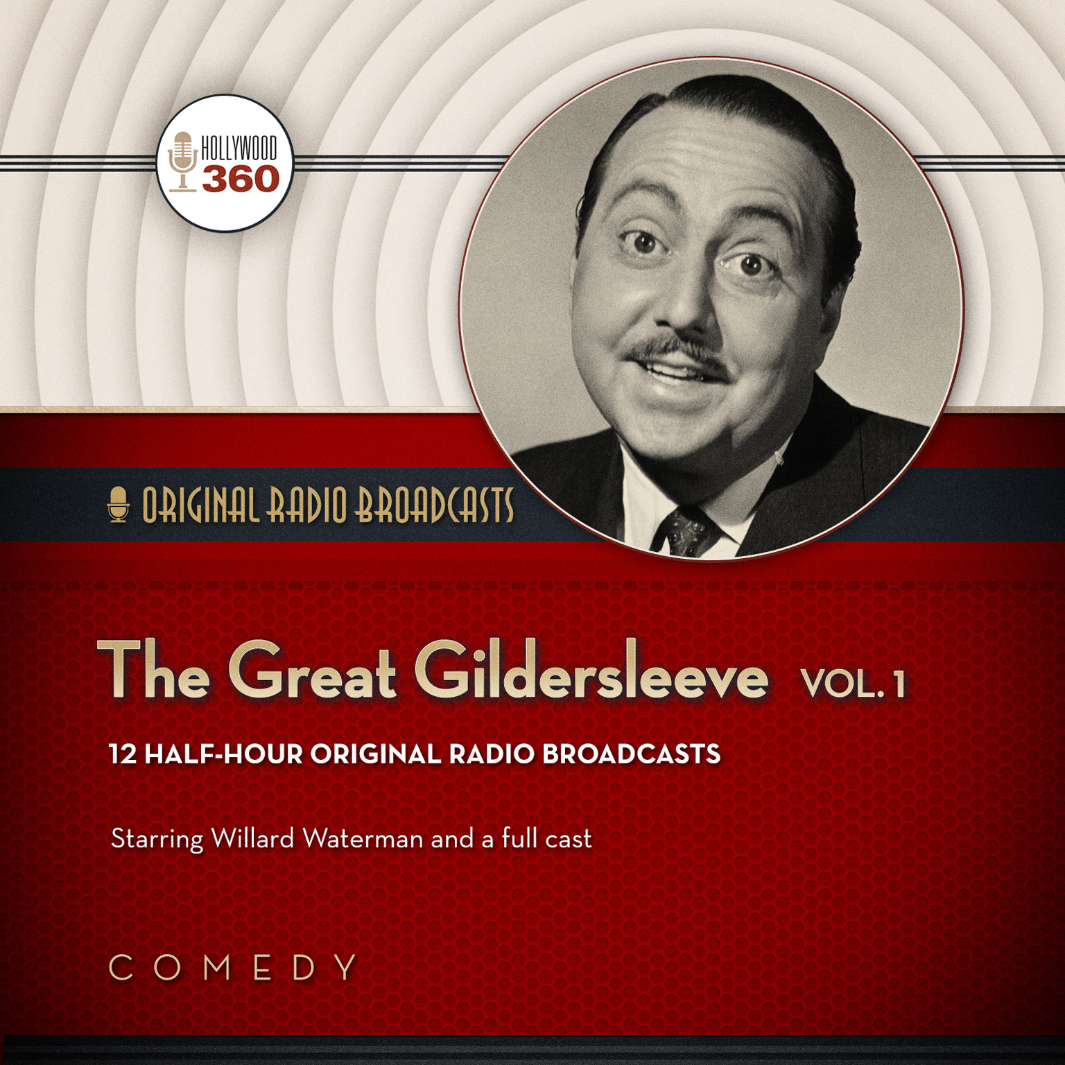 Printable The Great Gildersleeve, Vol. 1 Audiobook Cover Art