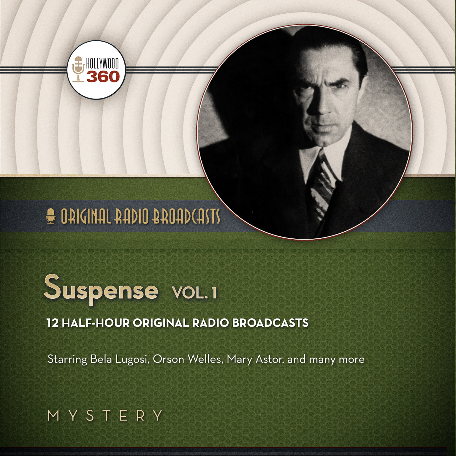 Printable Suspense, Vol. 1 Audiobook Cover Art