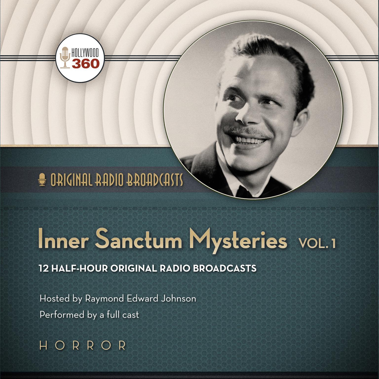 Printable Inner Sanctum Mysteries, Vol. 1 Audiobook Cover Art