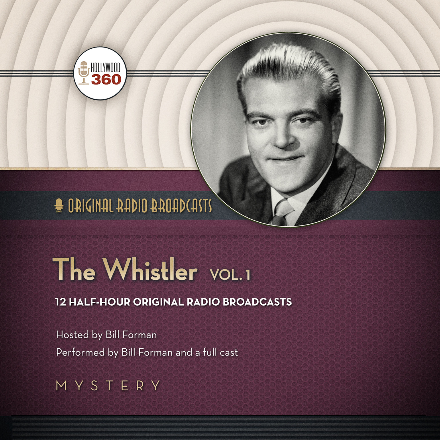 Printable The Whistler, Vol. 1 Audiobook Cover Art