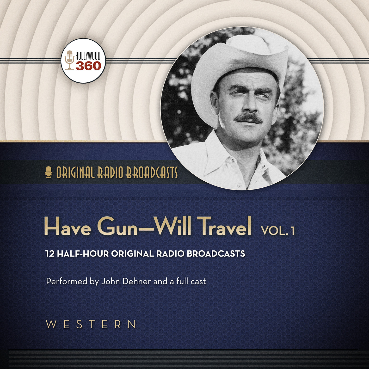 Printable Have Gun—Will Travel, Vol. 1 Audiobook Cover Art
