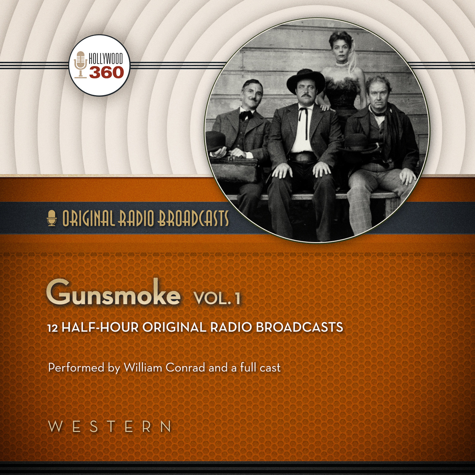 Printable Gunsmoke, Vol. 1 Audiobook Cover Art