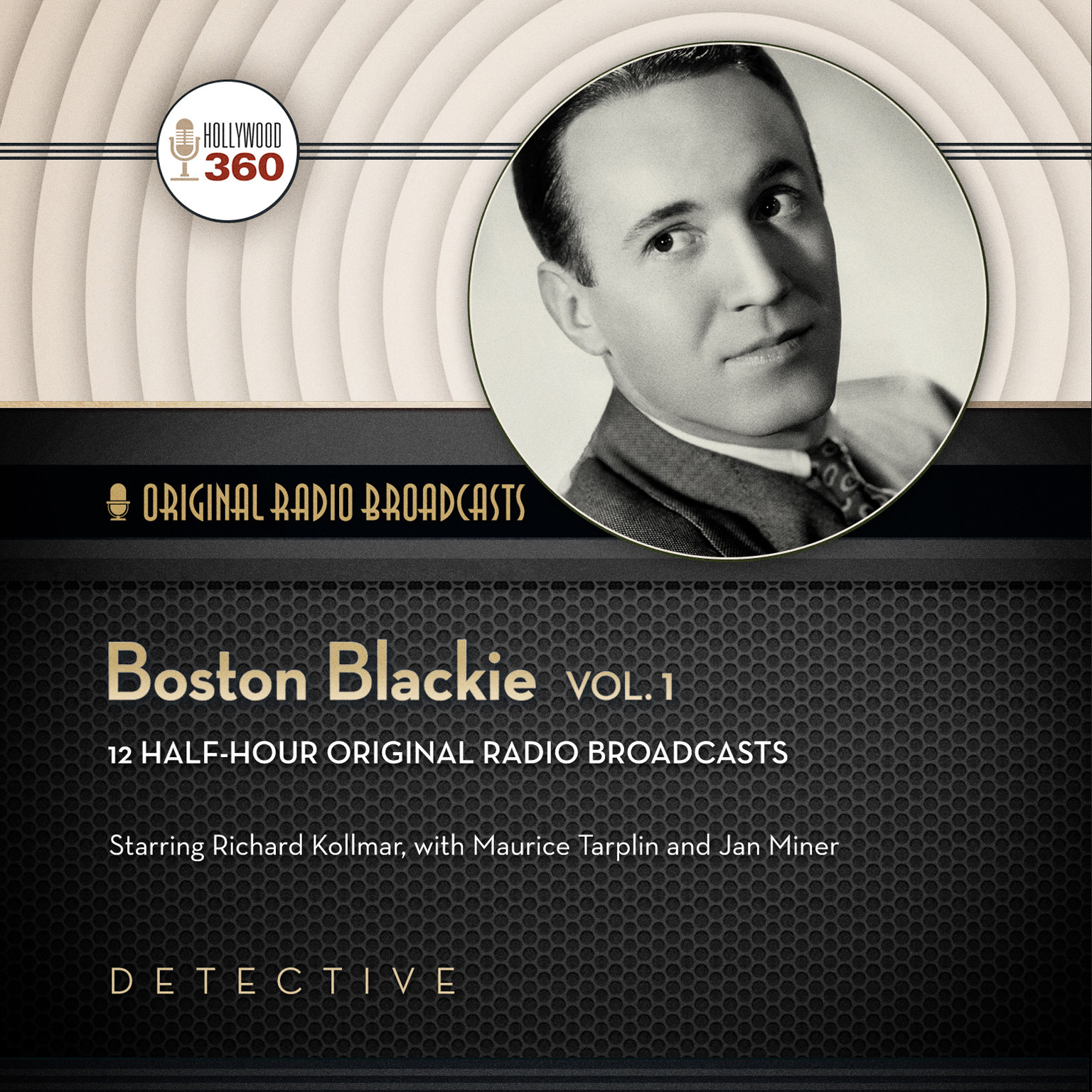 Printable Boston Blackie, Vol. 1 Audiobook Cover Art
