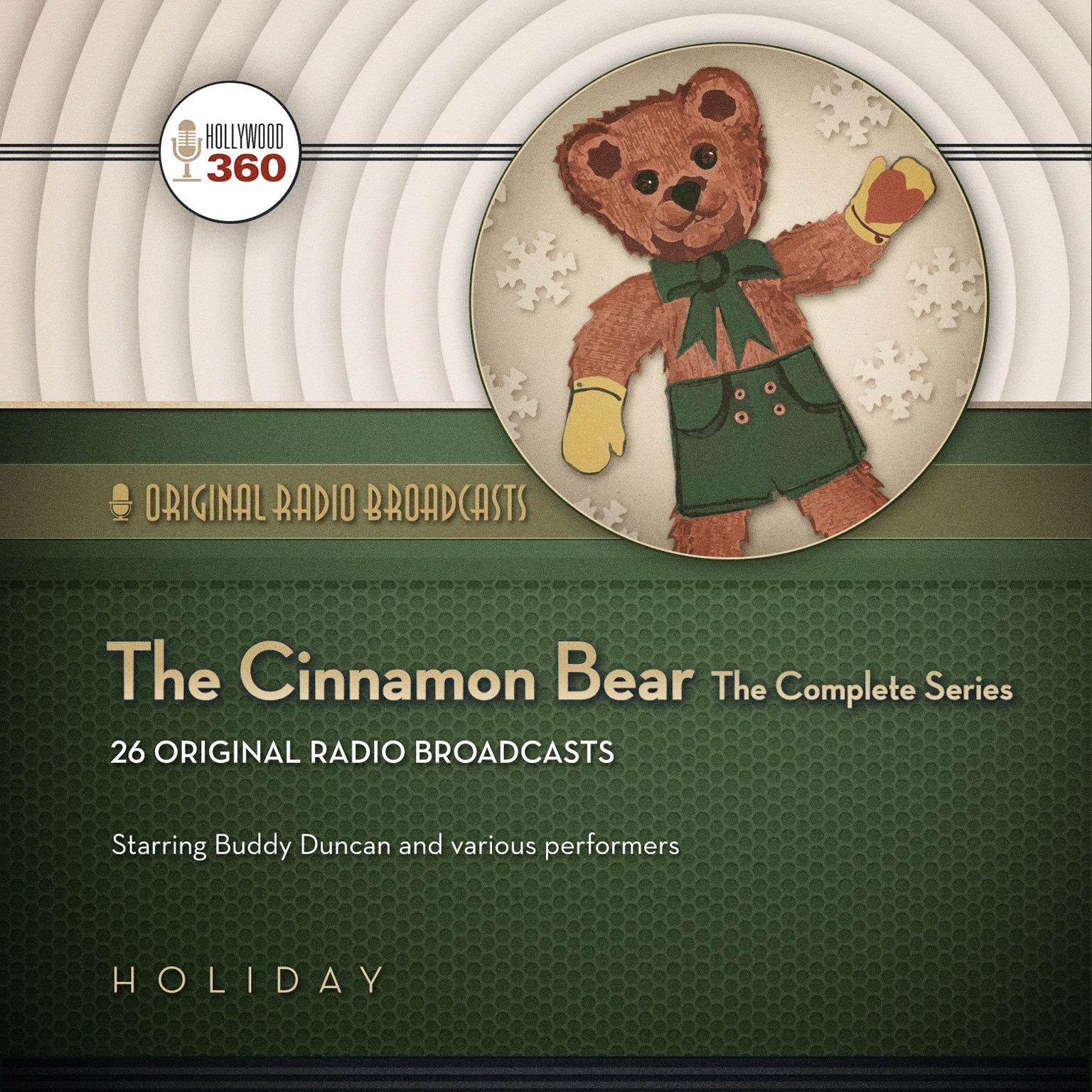 Printable The Cinnamon Bear: The Complete Series Audiobook Cover Art
