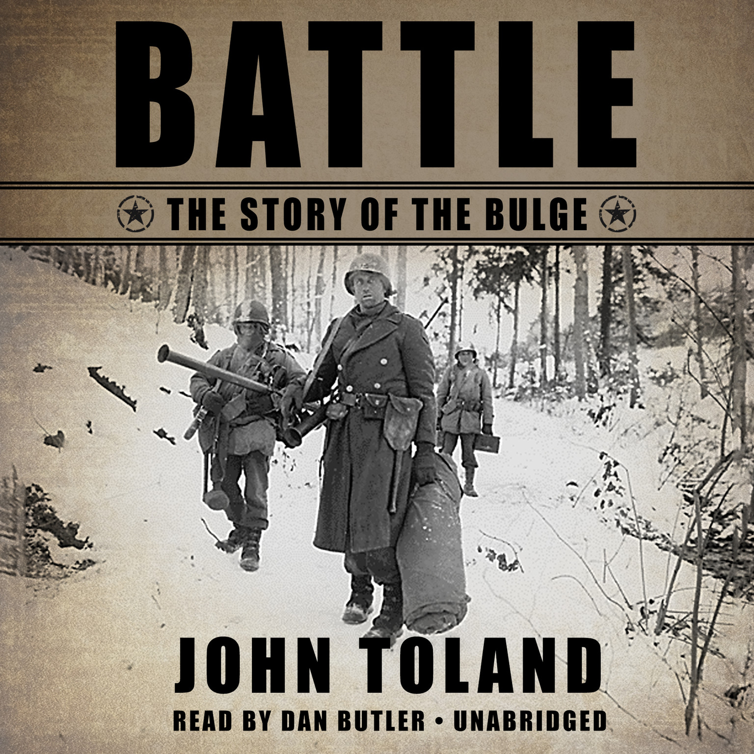Printable Battle: The Story of the Bulge Audiobook Cover Art