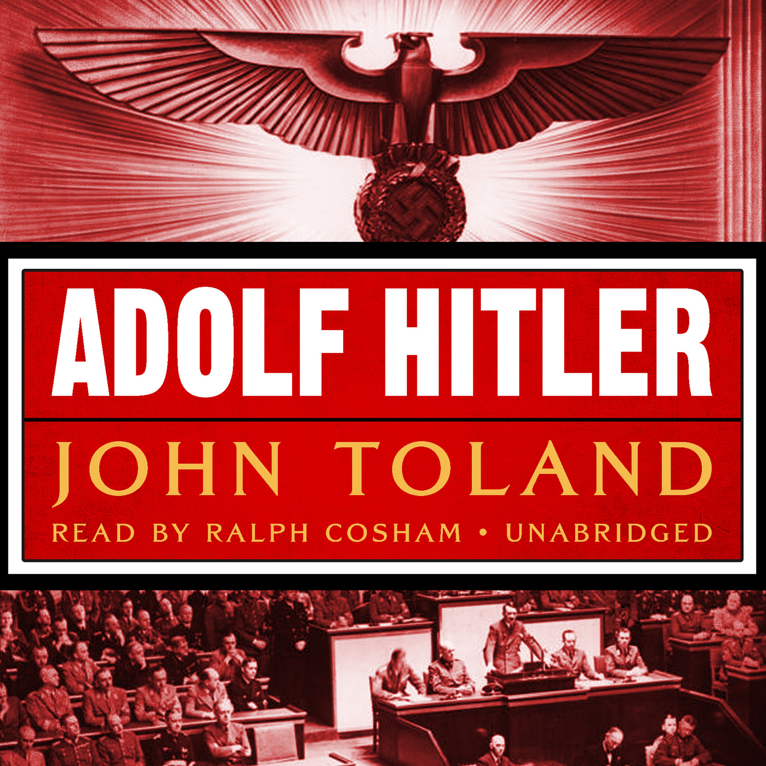 Printable Adolf Hitler Audiobook Cover Art