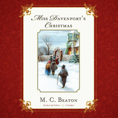 Miss Davenport's Christmas Audiobook, by M. C. Beaton