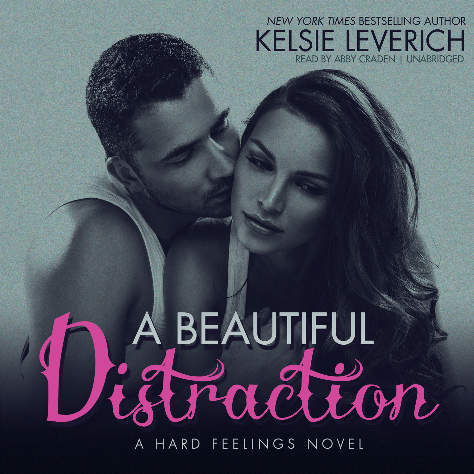 Printable A Beautiful Distraction: A Hard Feelings Novel Audiobook Cover Art