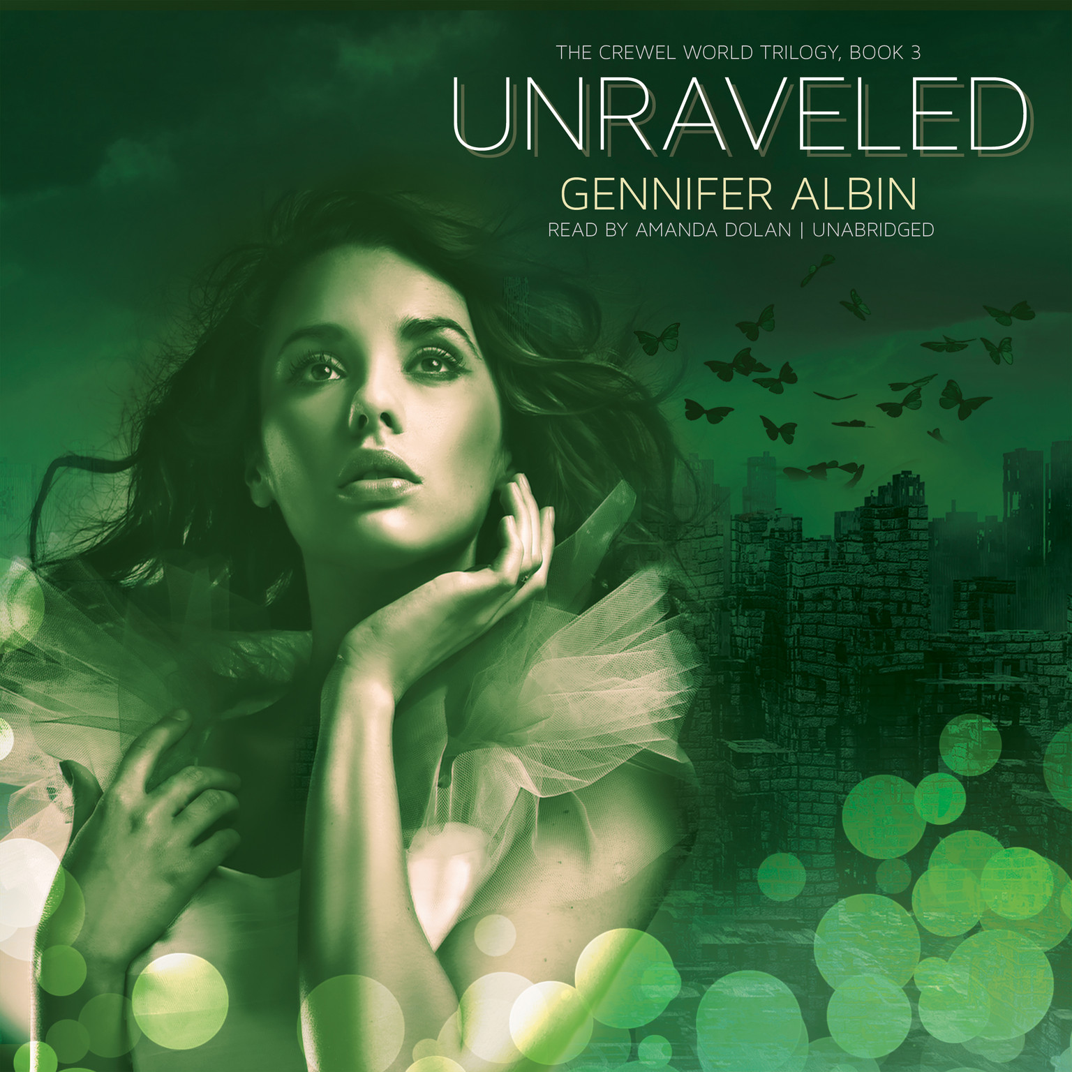 Printable Unraveled Audiobook Cover Art