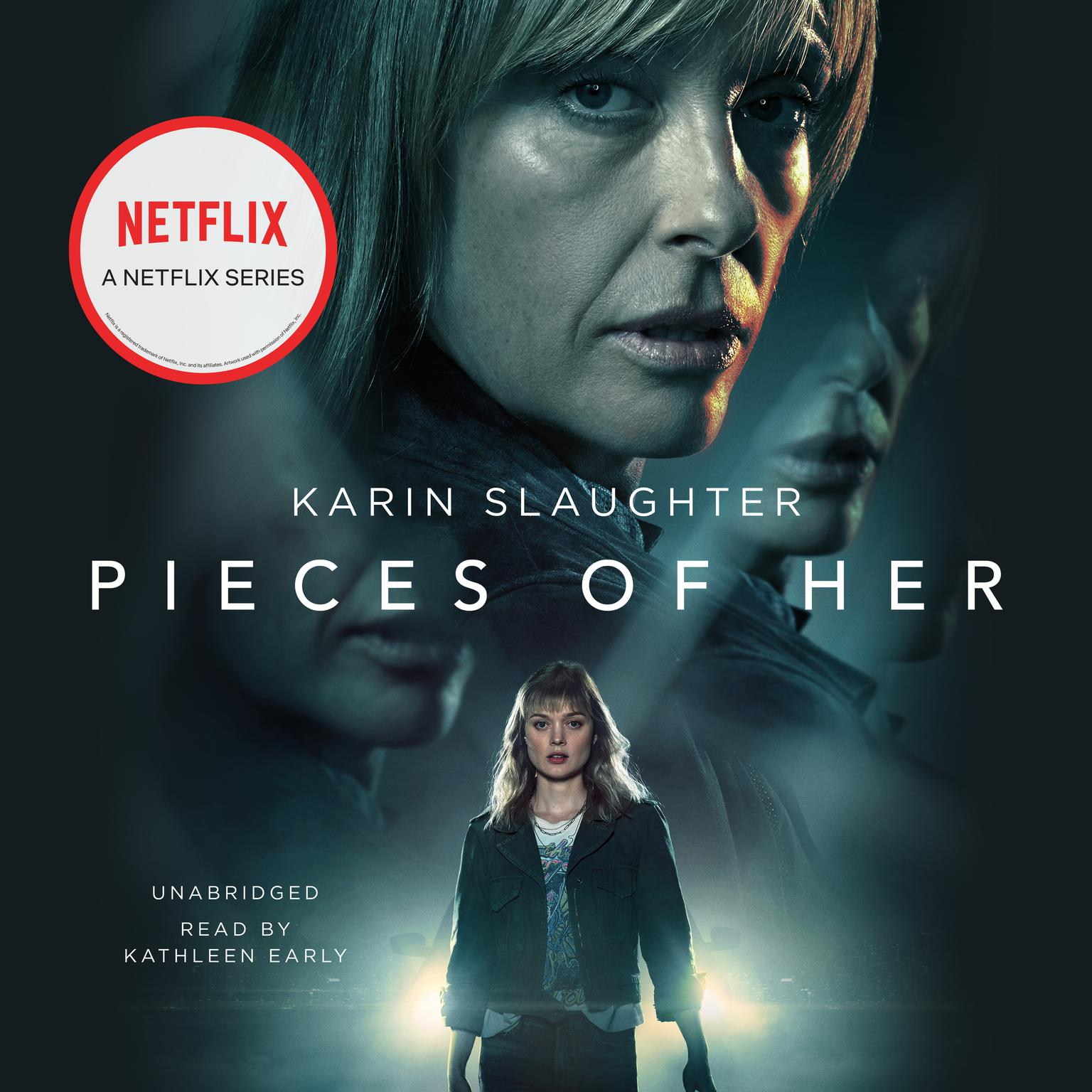 Printable Pieces of Her: A Novel Audiobook Cover Art