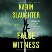 False Witness Audiobook, by Karin Slaughter