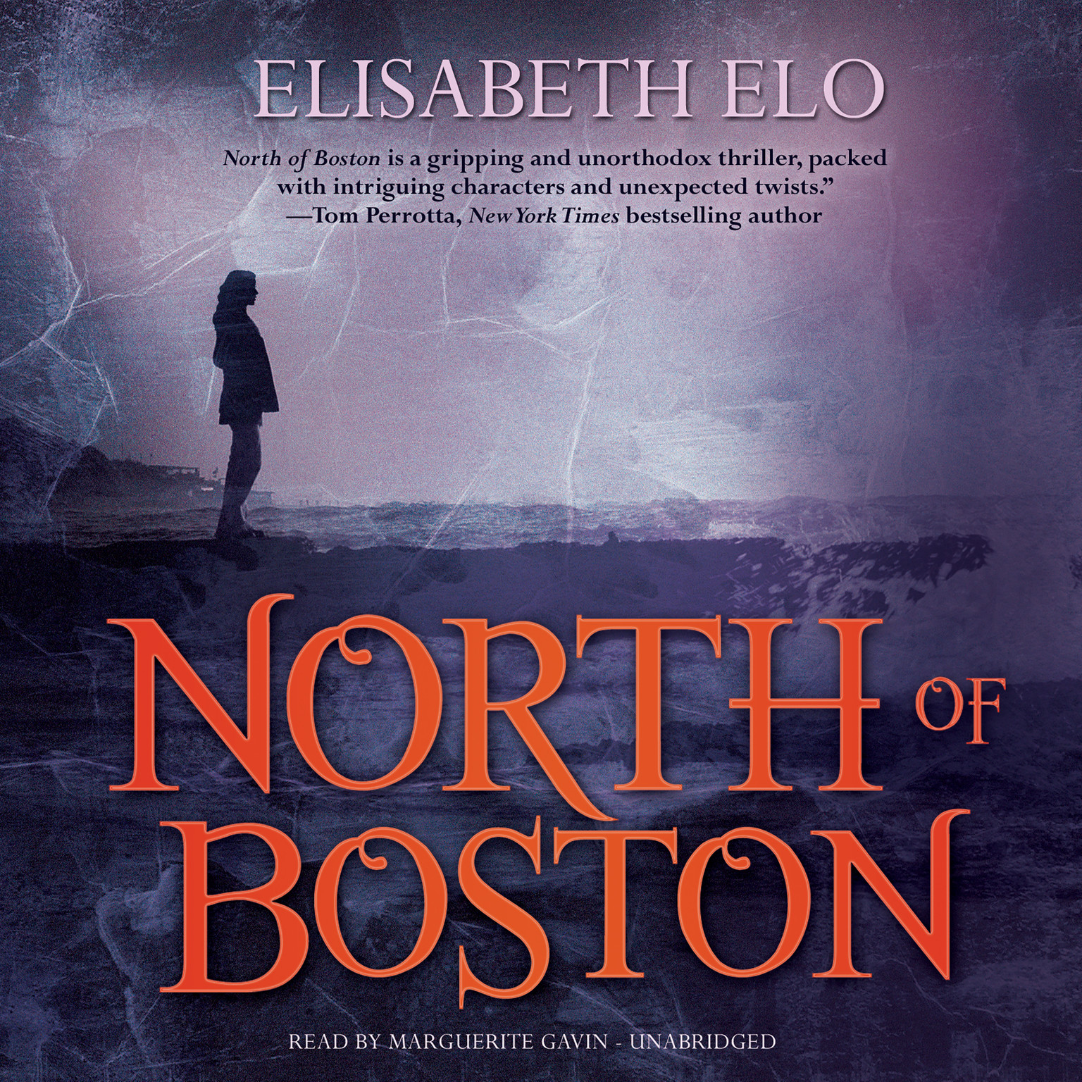 Printable North of Boston Audiobook Cover Art