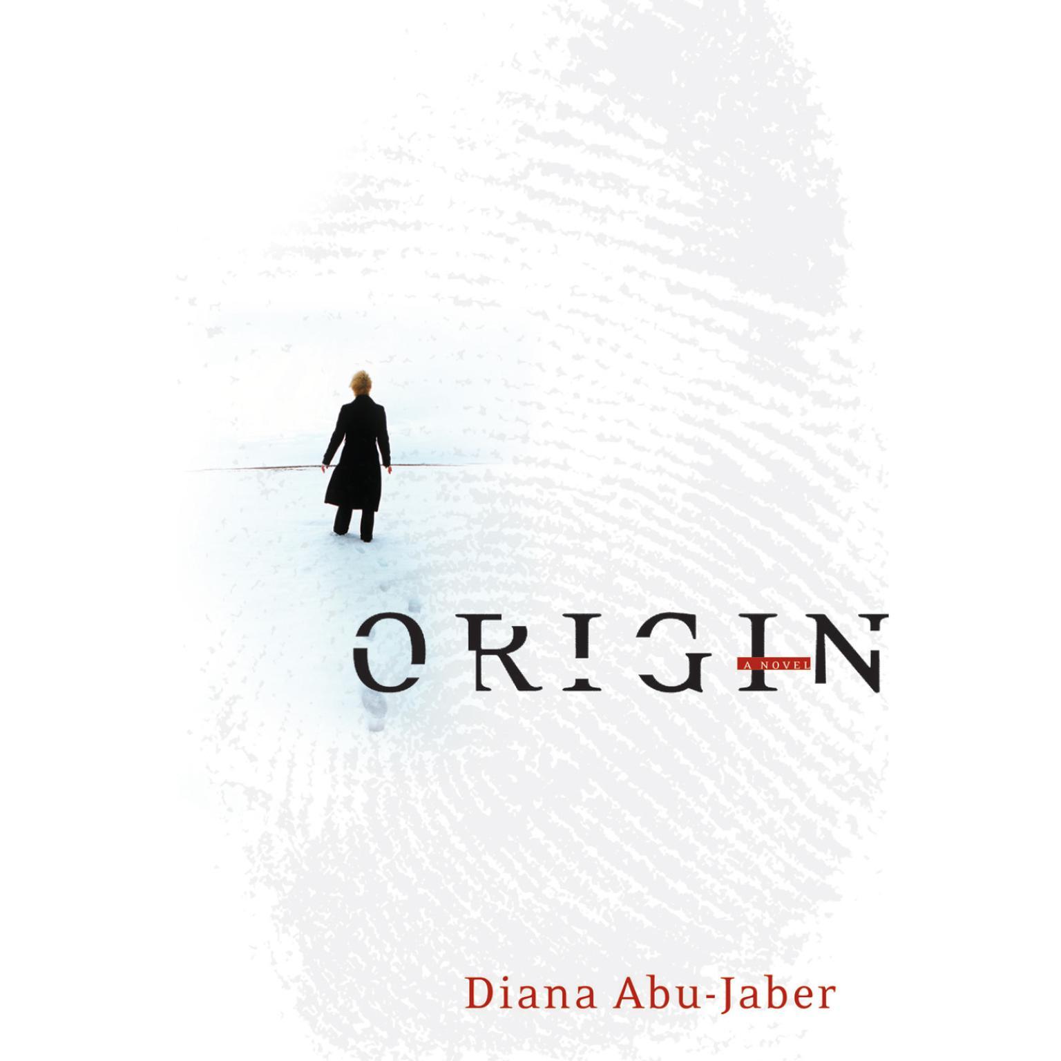 Printable Origin: A Novel Audiobook Cover Art