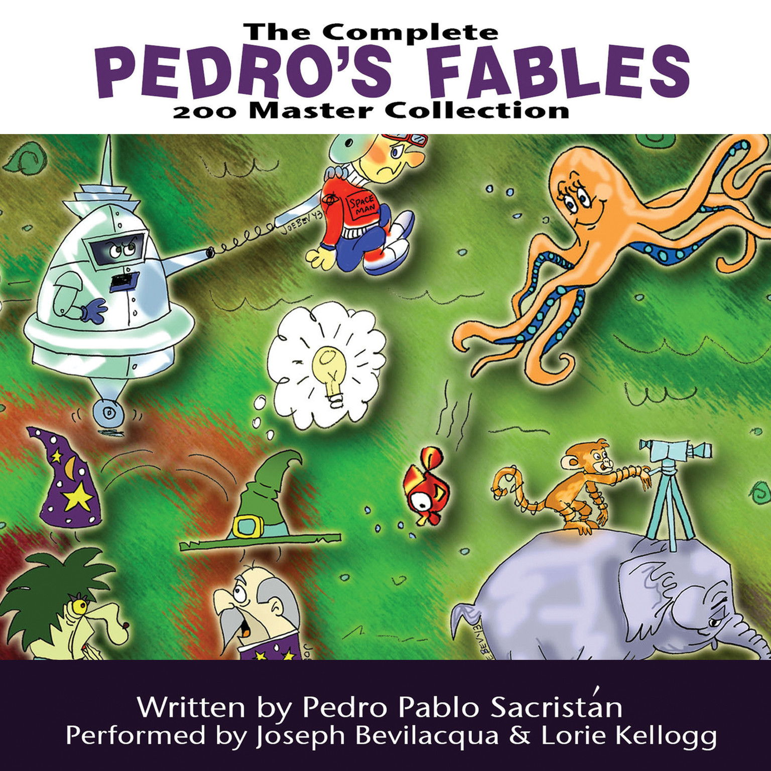Printable The Complete Pedro's 200 Fables Master Collection Audiobook Cover Art