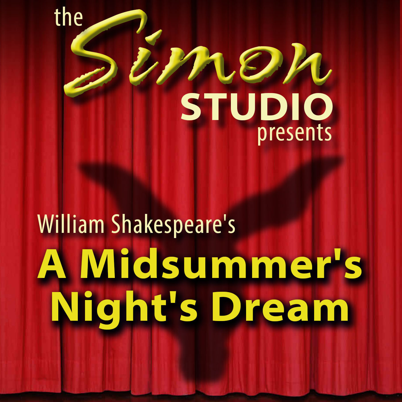 Printable Simon Studio Presents: A Midsummer Night's Dream: The Best of the Comedy-O-Rama Hour, Season 8 Audiobook Cover Art
