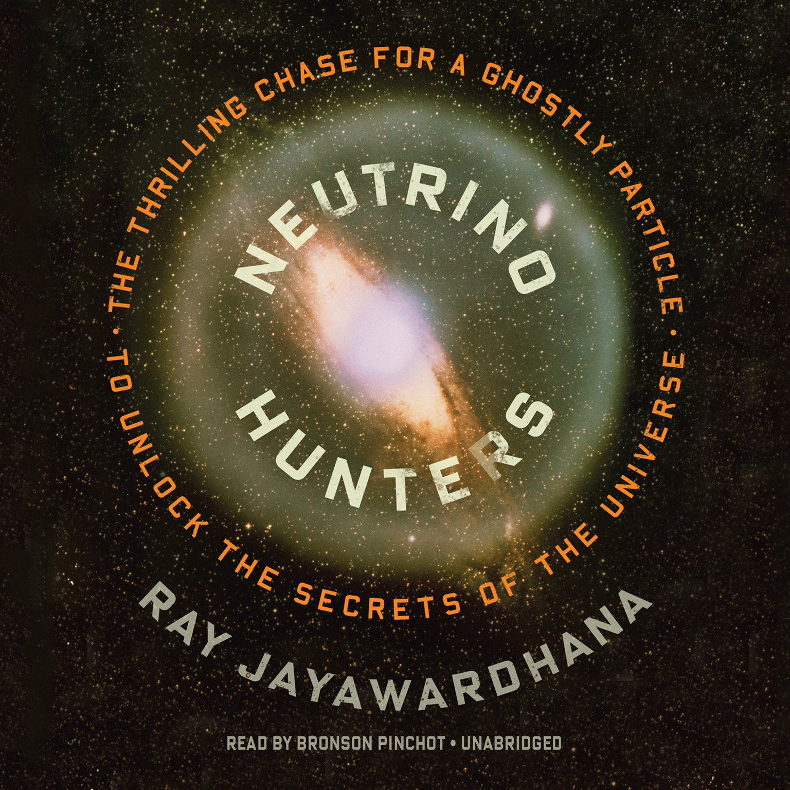 Printable Neutrino Hunters: The Thrilling Chase for a Ghostly Particle to Unlock the Secrets of the Universe Audiobook Cover Art