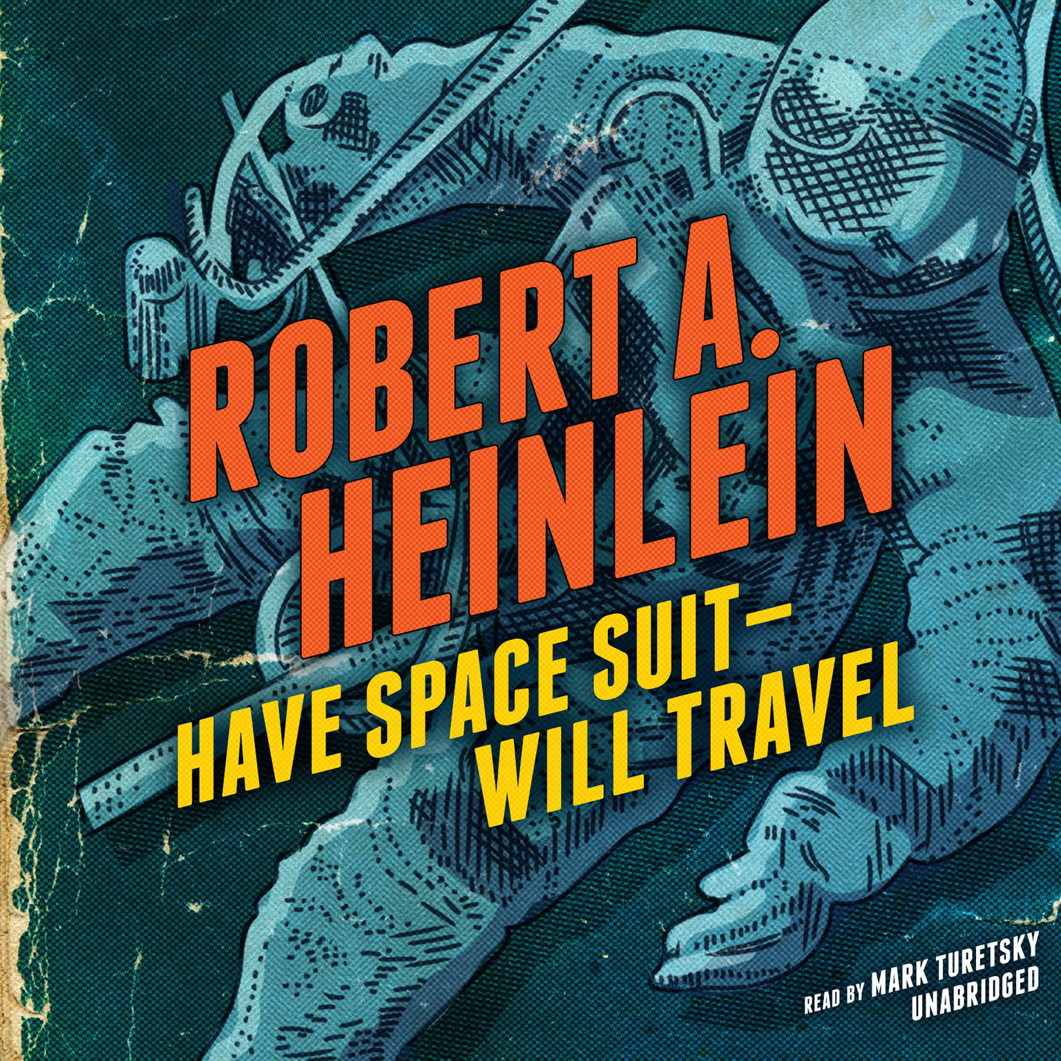 Printable Have Space Suit—Will Travel Audiobook Cover Art