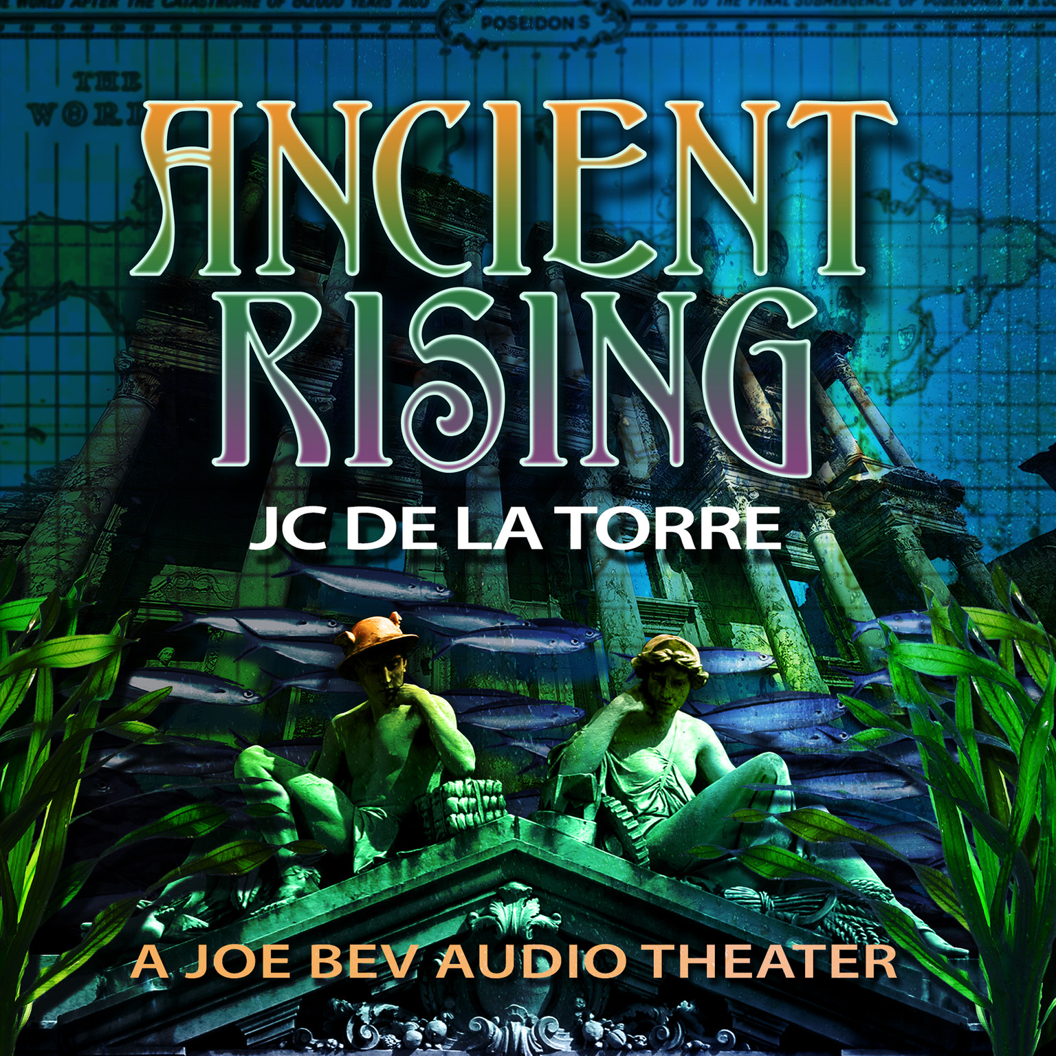 Printable Ancient Rising: A Joe Bev Audio Theater Audiobook Cover Art