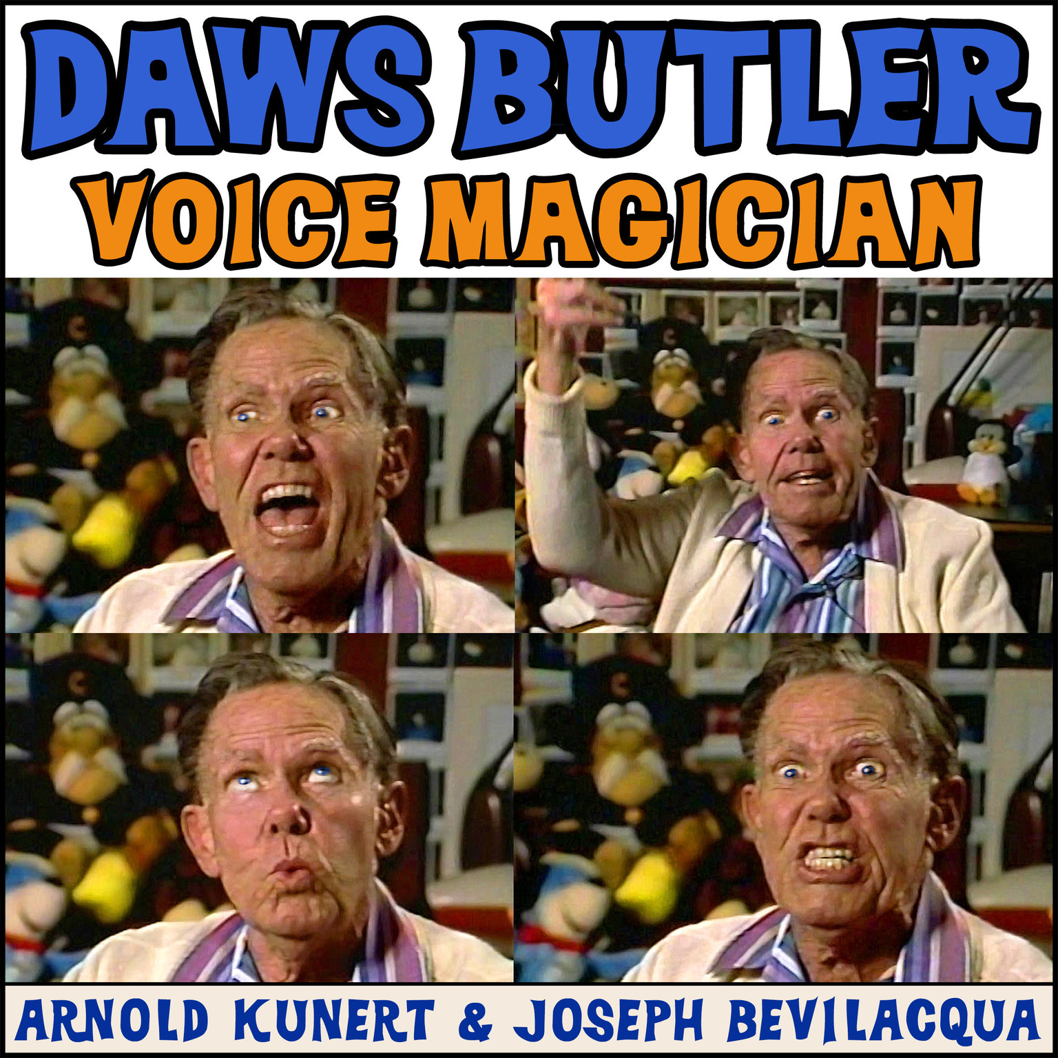 Printable Daws Butler: Voice Magician: The Audiobook Audiobook Cover Art