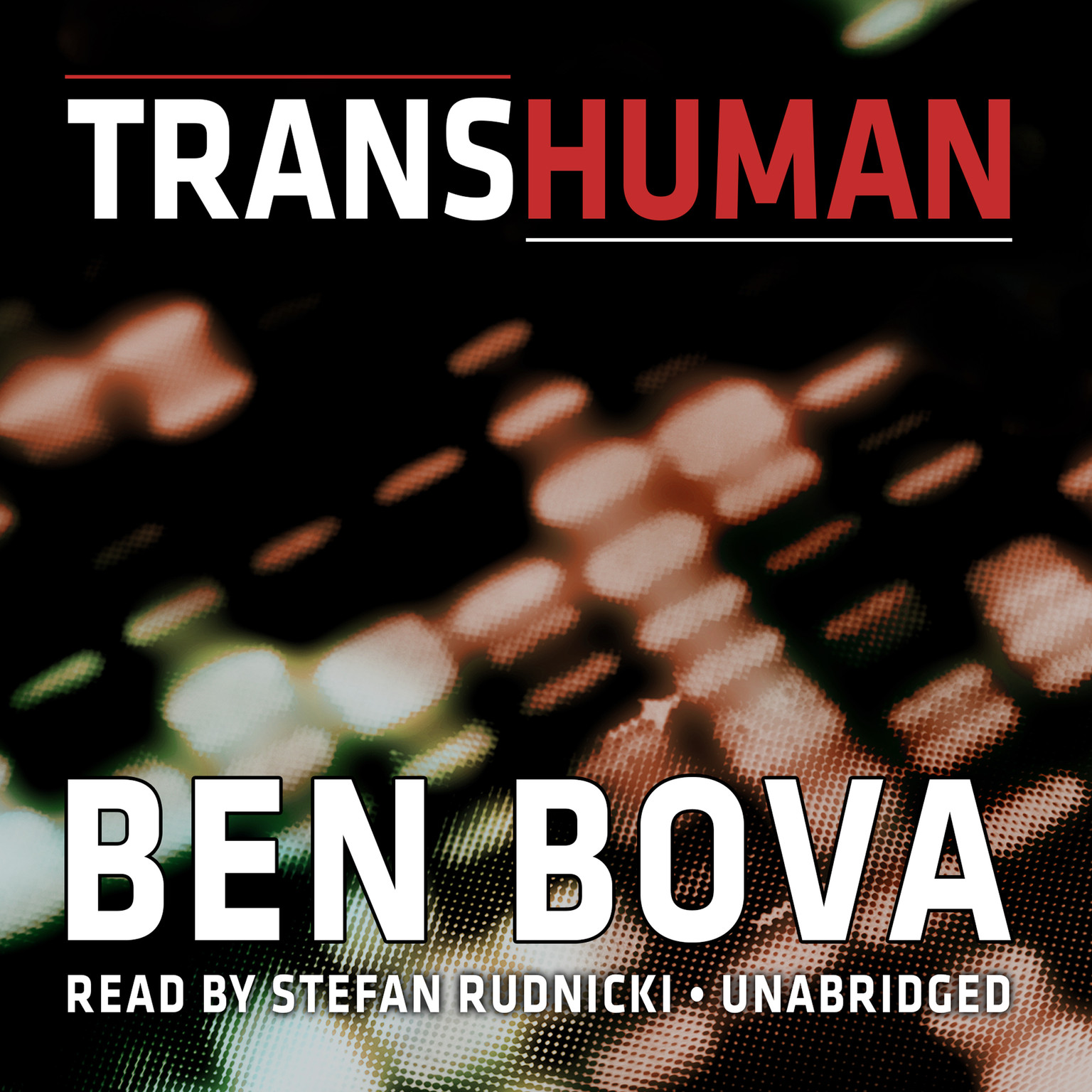 Printable Transhuman Audiobook Cover Art