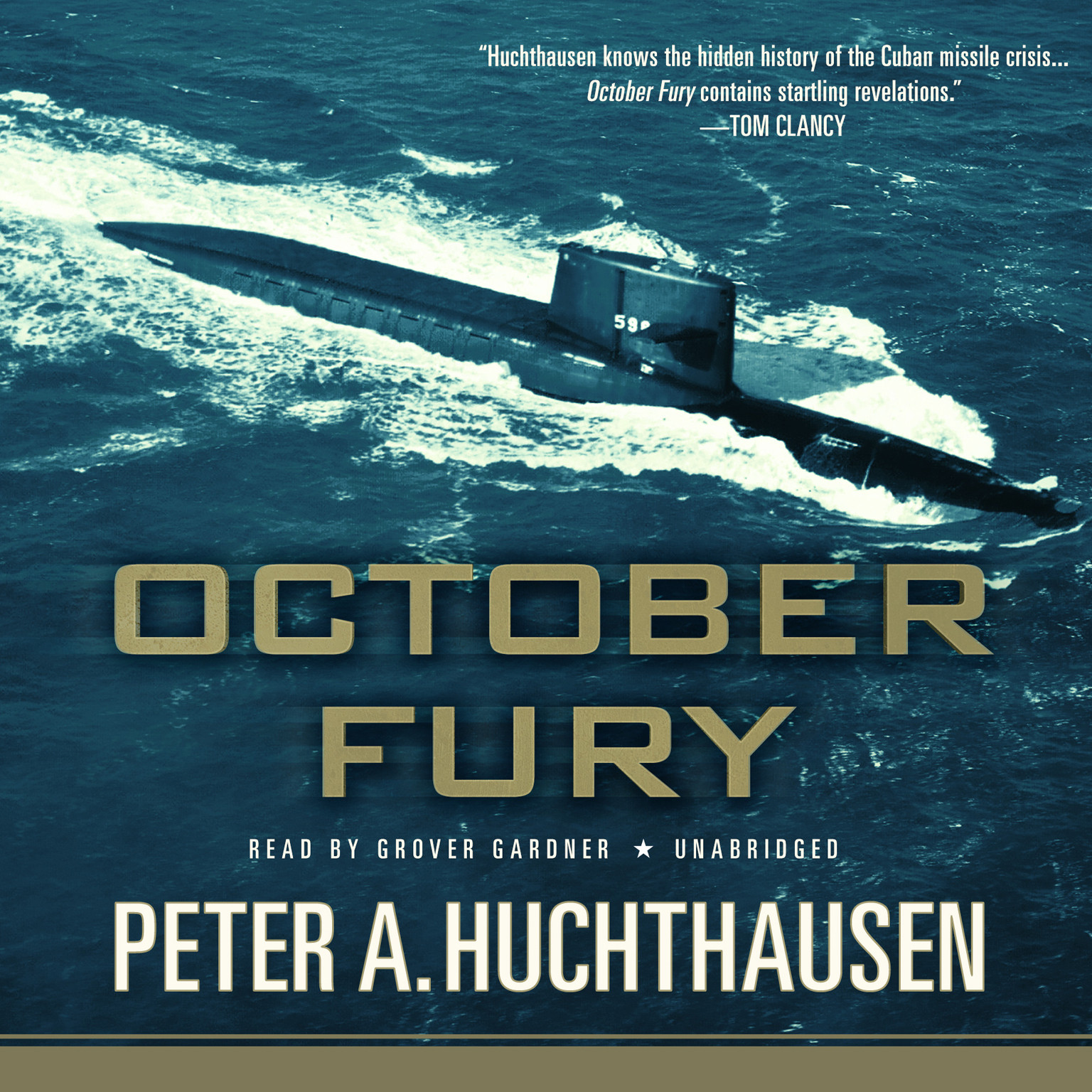 Printable October Fury Audiobook Cover Art