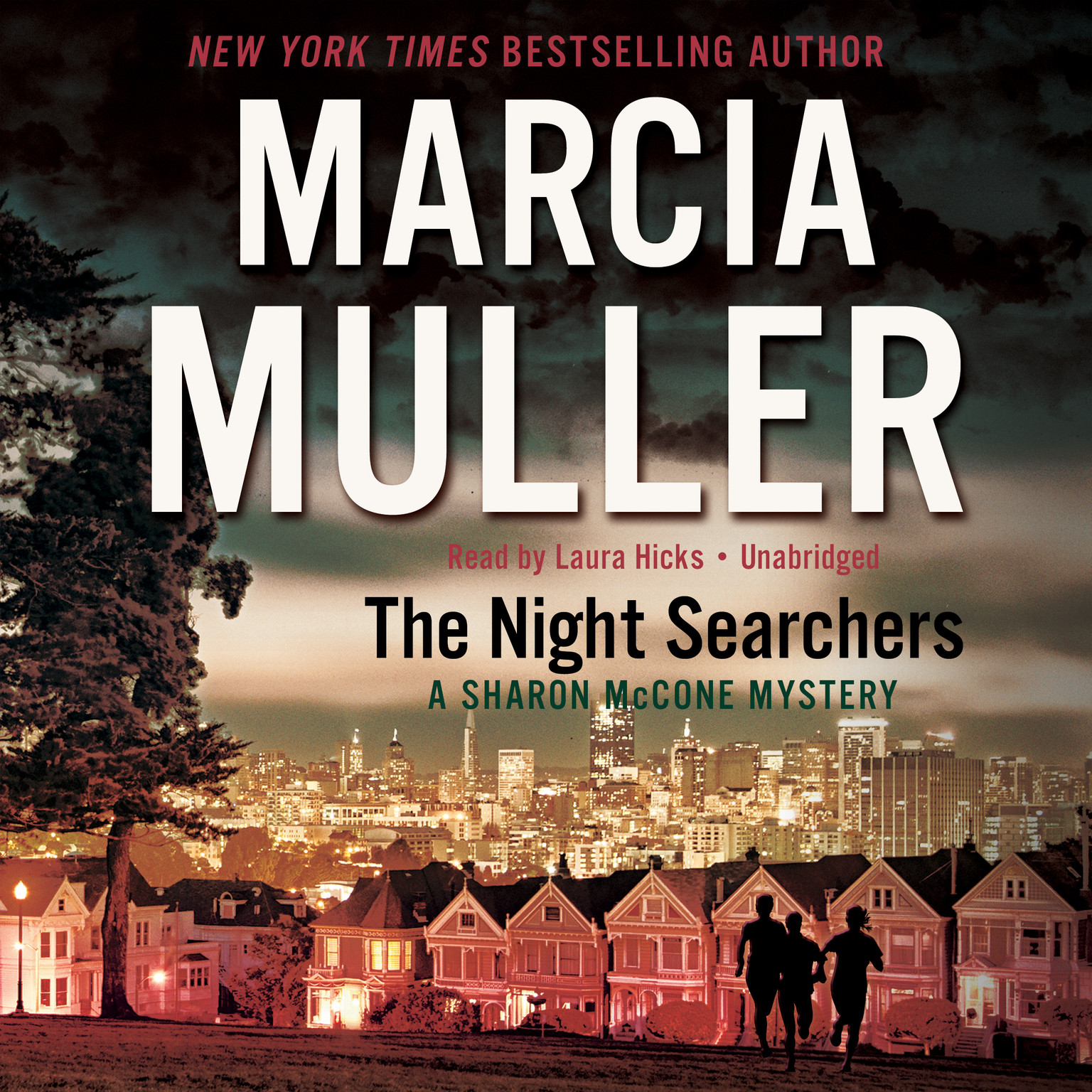 Printable The Night Searchers Audiobook Cover Art
