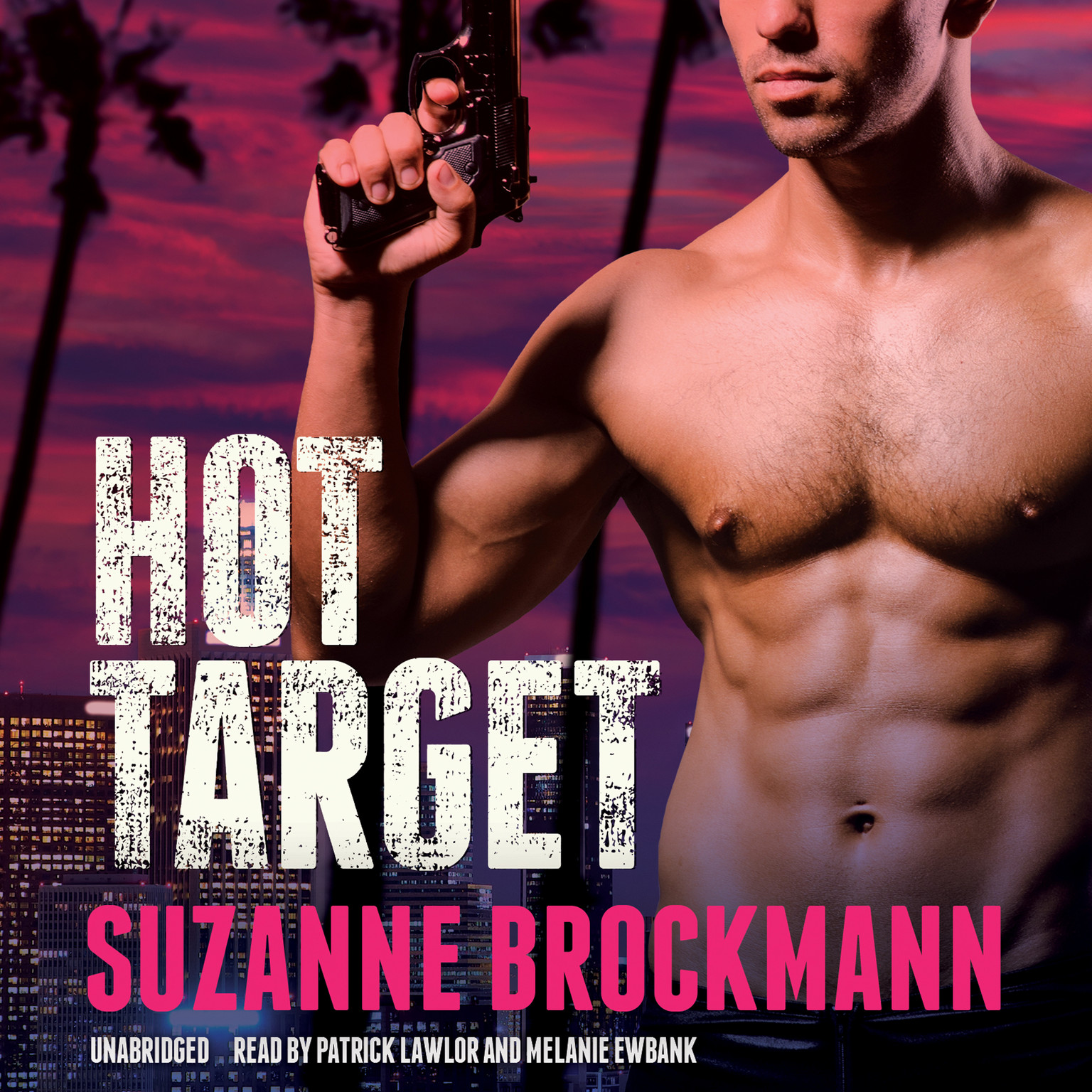 Printable Hot Target: A Novel Audiobook Cover Art