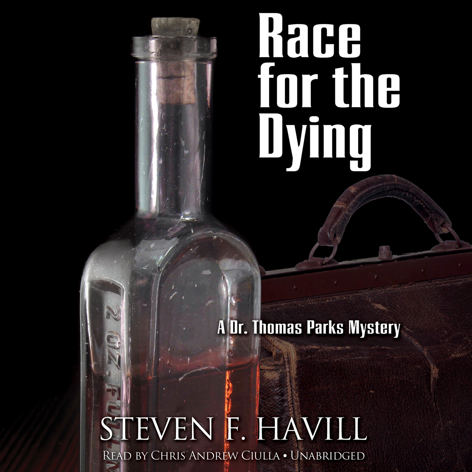 Printable Race for the Dying Audiobook Cover Art