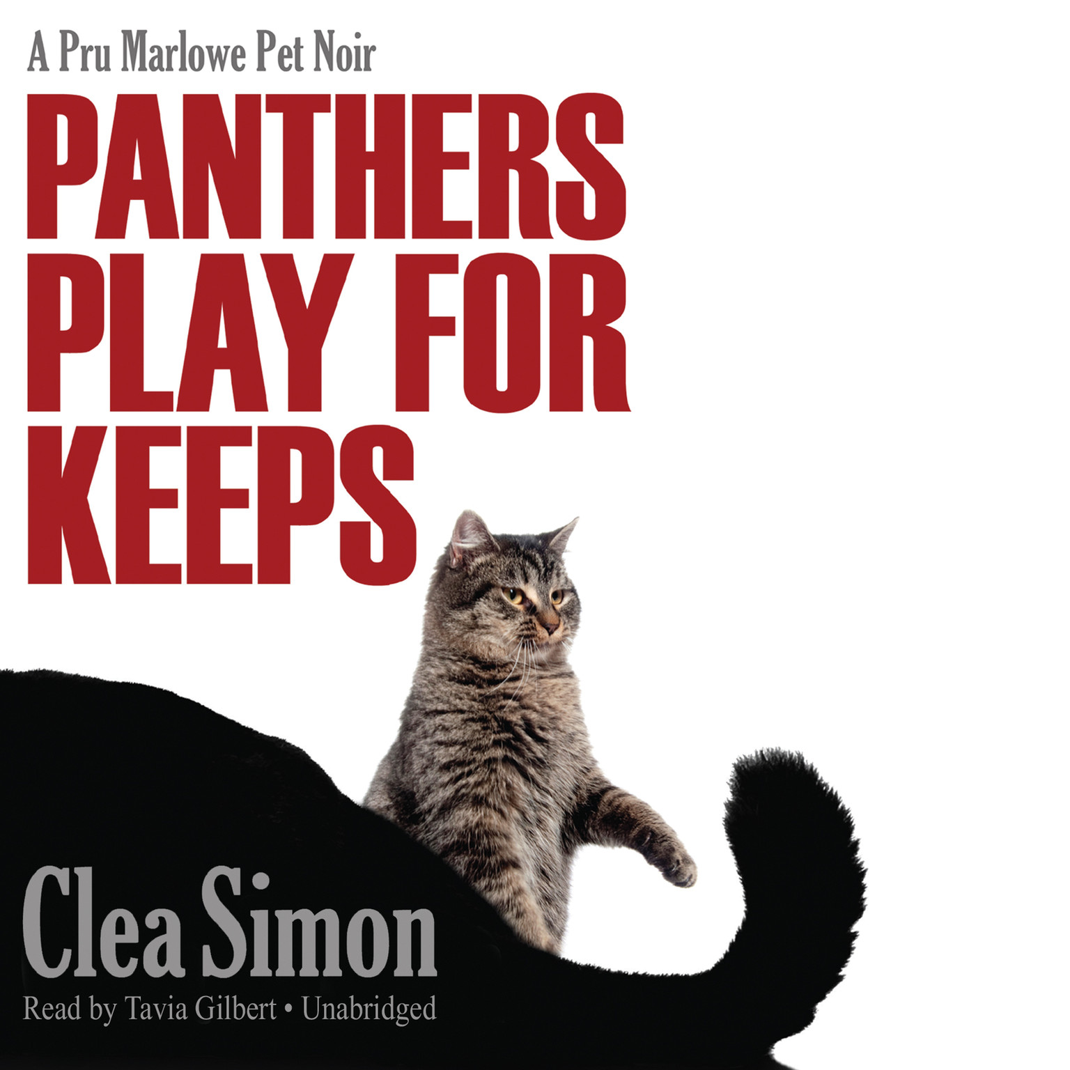 Printable Panthers Play for Keeps: A Pru Marlowe Pet Noir Audiobook Cover Art